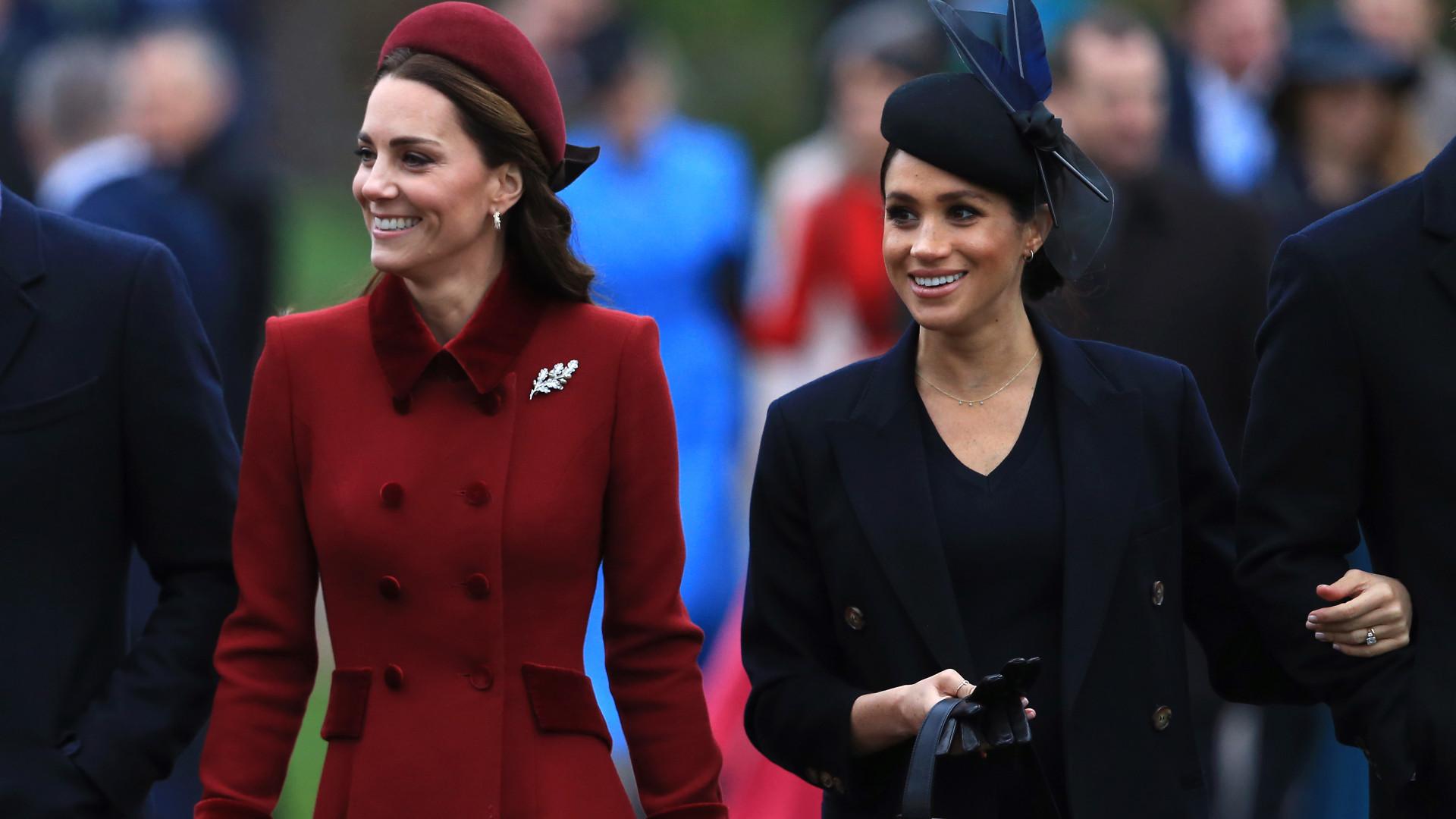 Meghan Markle acusa Kate Middleton de vazar informações para imprensa
