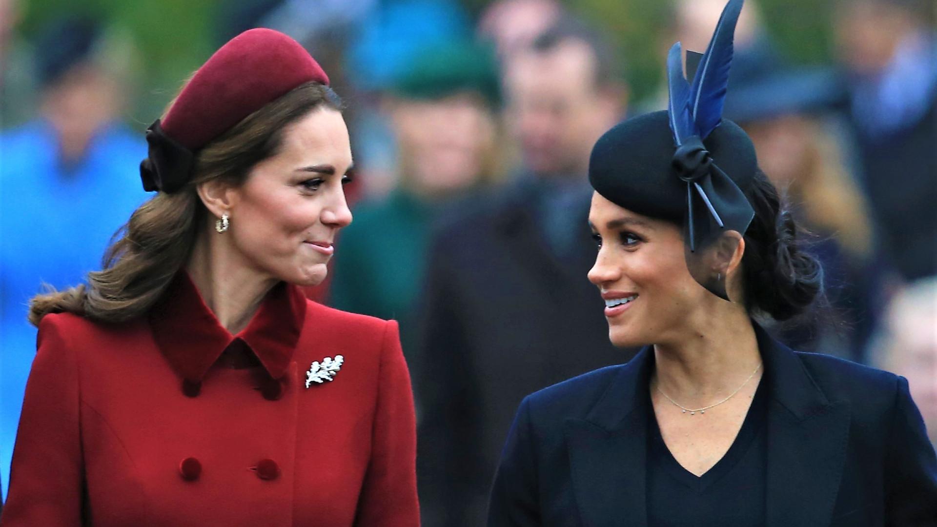 Kate e Meghan: semelhanças e diferenças nas trajetórias das duquesas