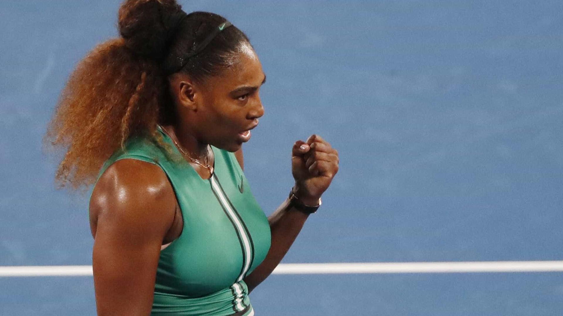 Serena vence e garante vaga na 3ª rodada do Aberto da Austrália