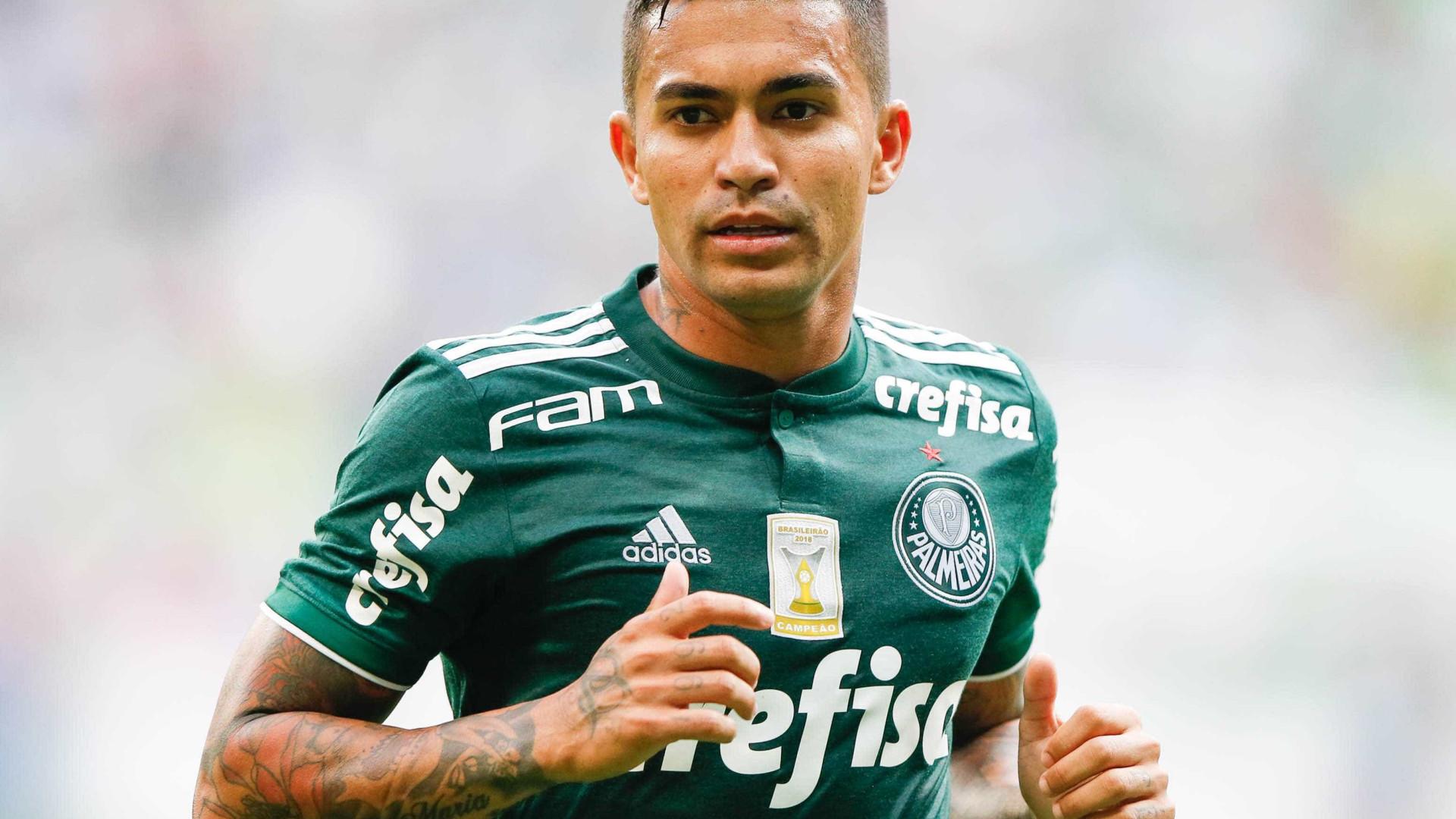 Dudu faz primeiro treino no Palmeiras, mas estreia será apenas em agosto