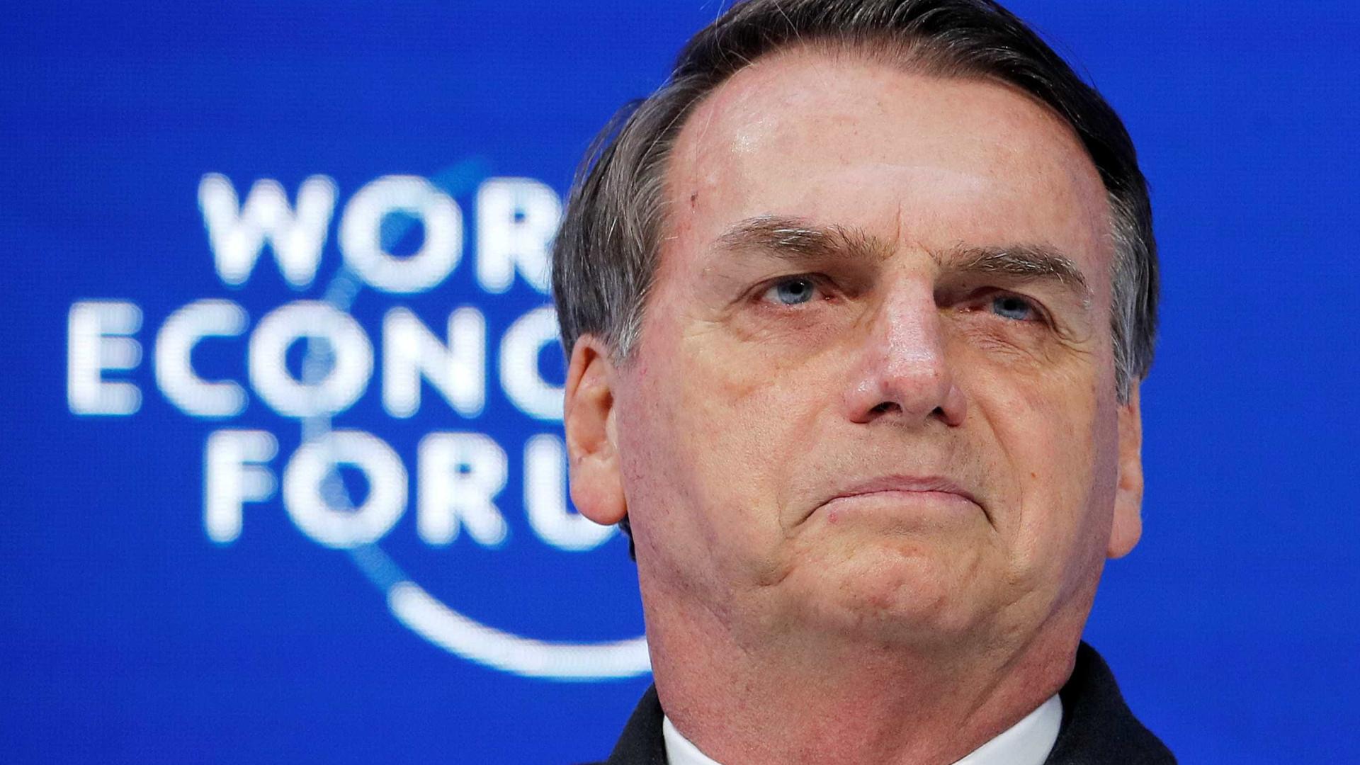 Davos: Bolsonaro promete governar pelo exemplo e não detalha reformas
