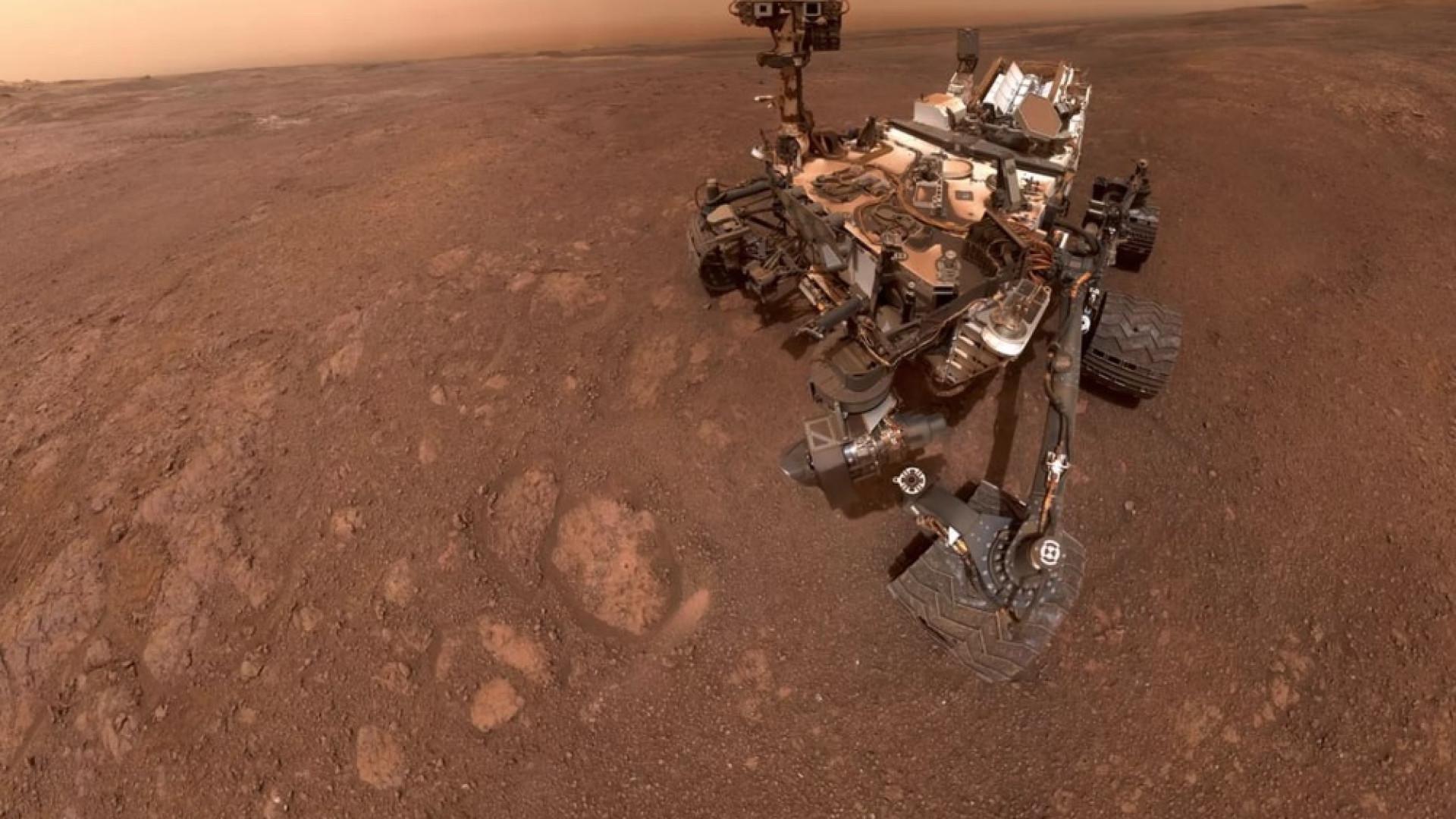 NASA encontra sinais de existência de vida em Marte