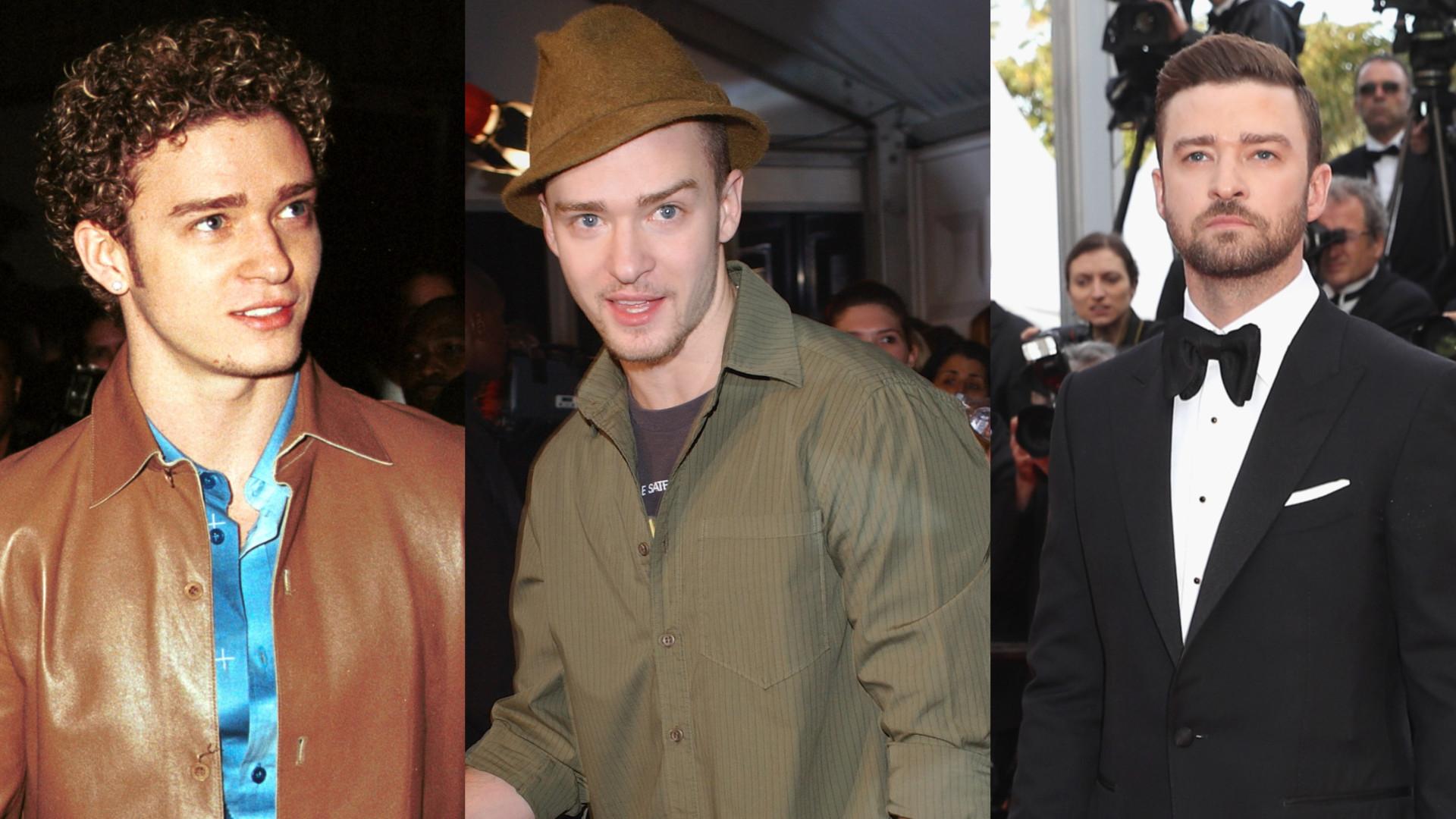 Veja a evolução no estilo de Justin Timberlake