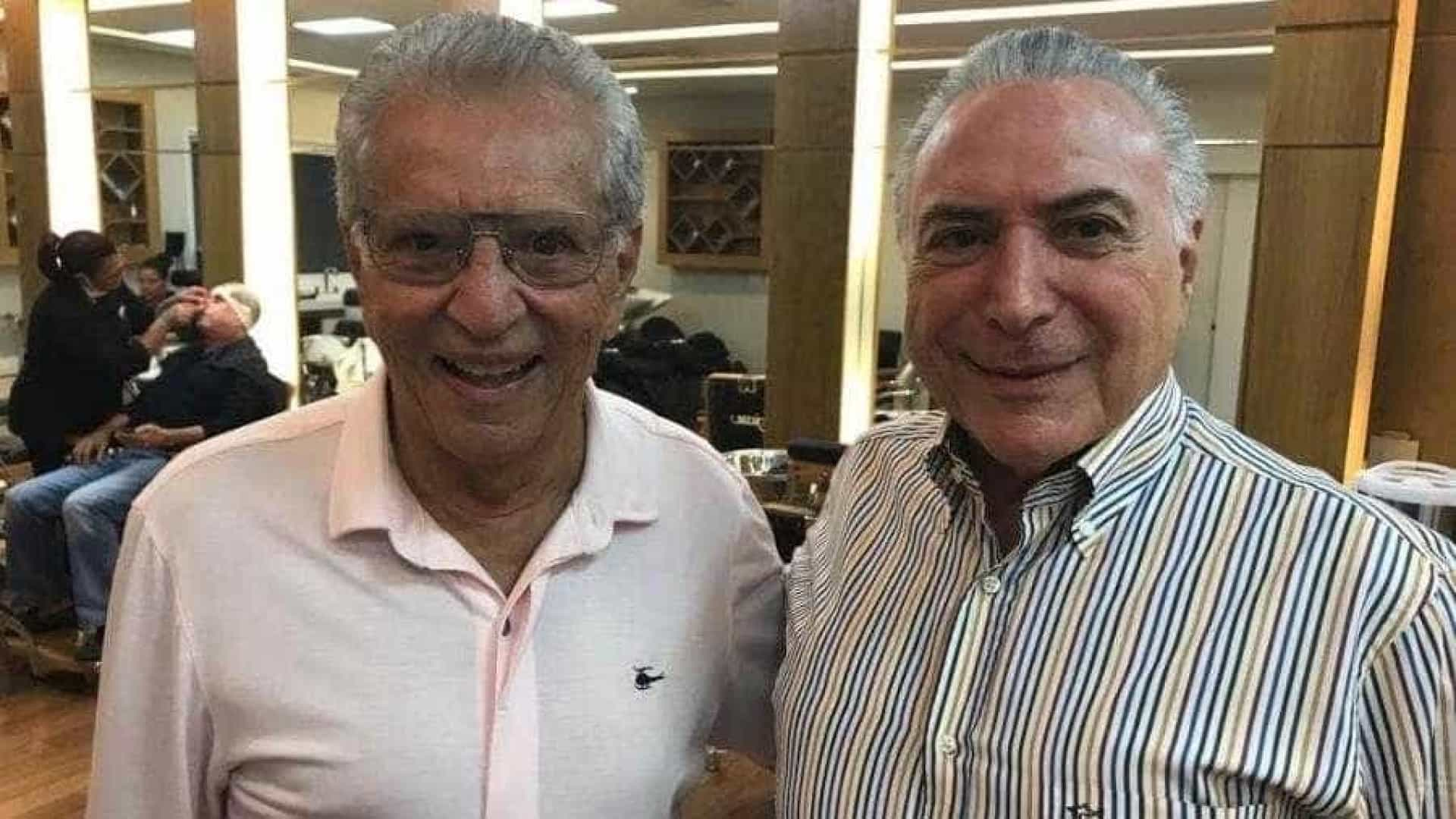 Carlos Alberto de Nóbrega relata 'climão' com Temer no Jassa