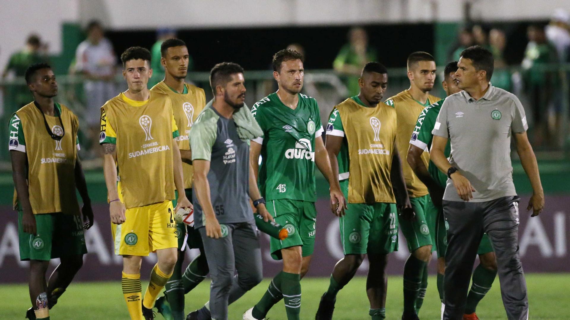 Chapecoense só empata com time chileno e está fora da Sul-Americana