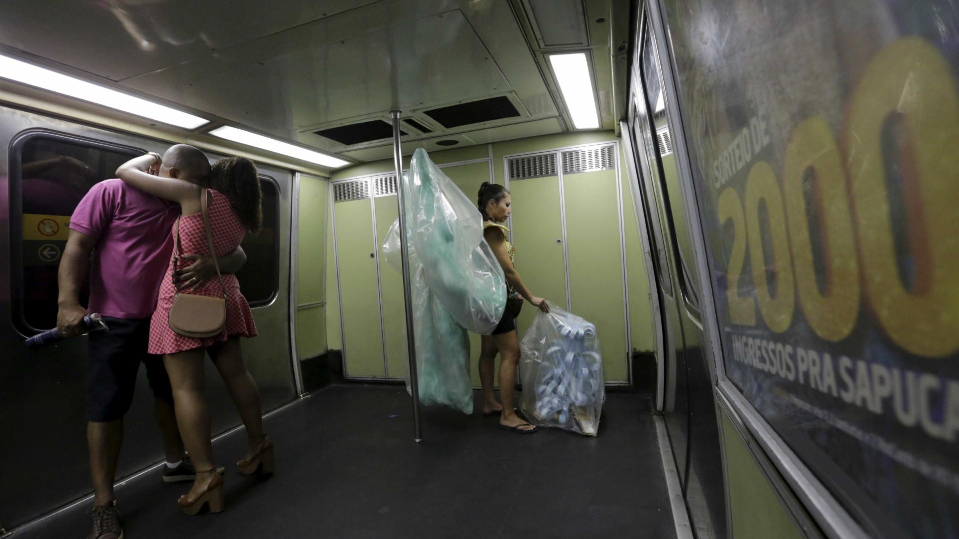 Metrô do Rio circula 24 horas durante carnaval