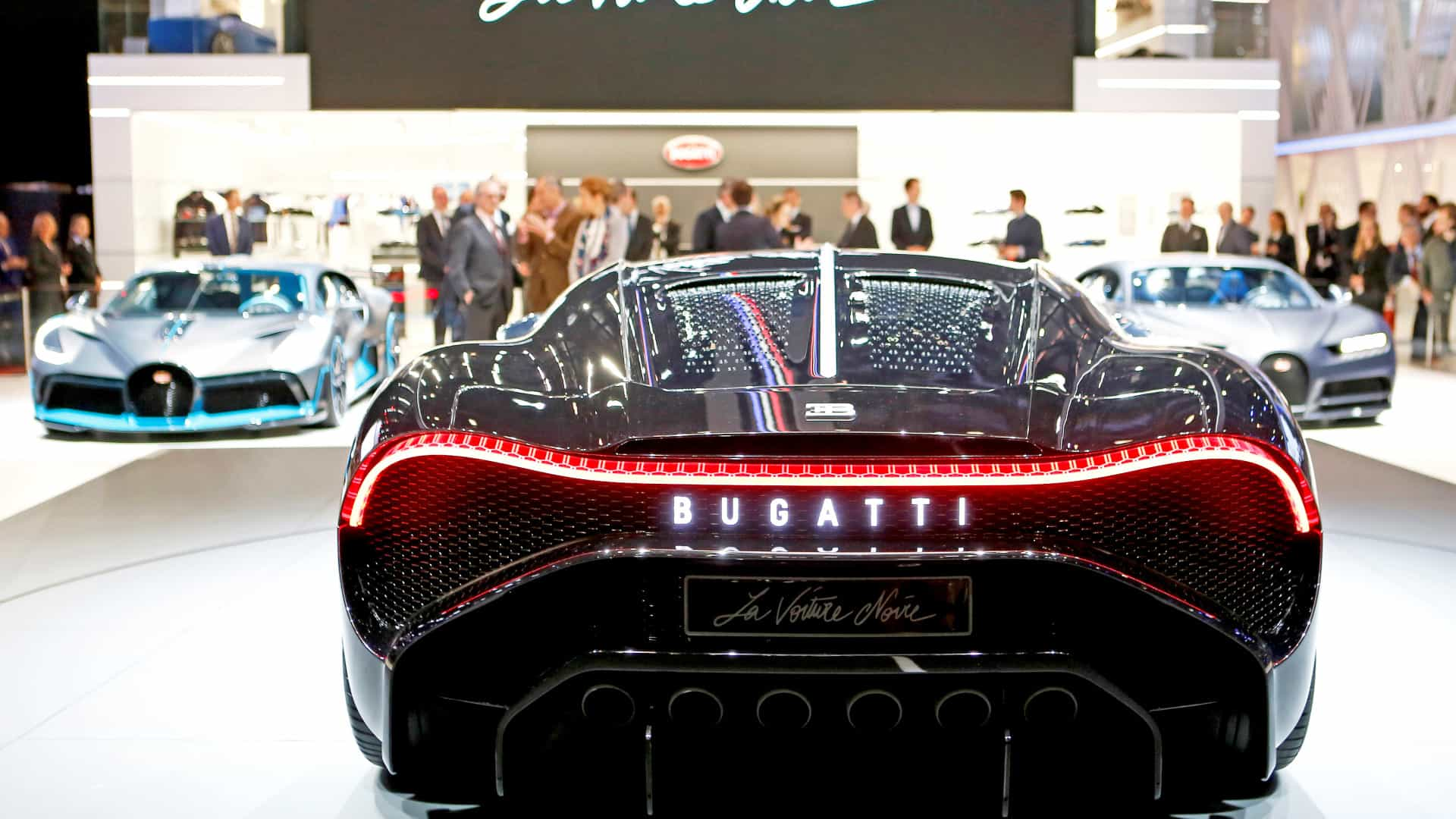 Bugatti e Rolls-Royce lideram lista de carros mais caros