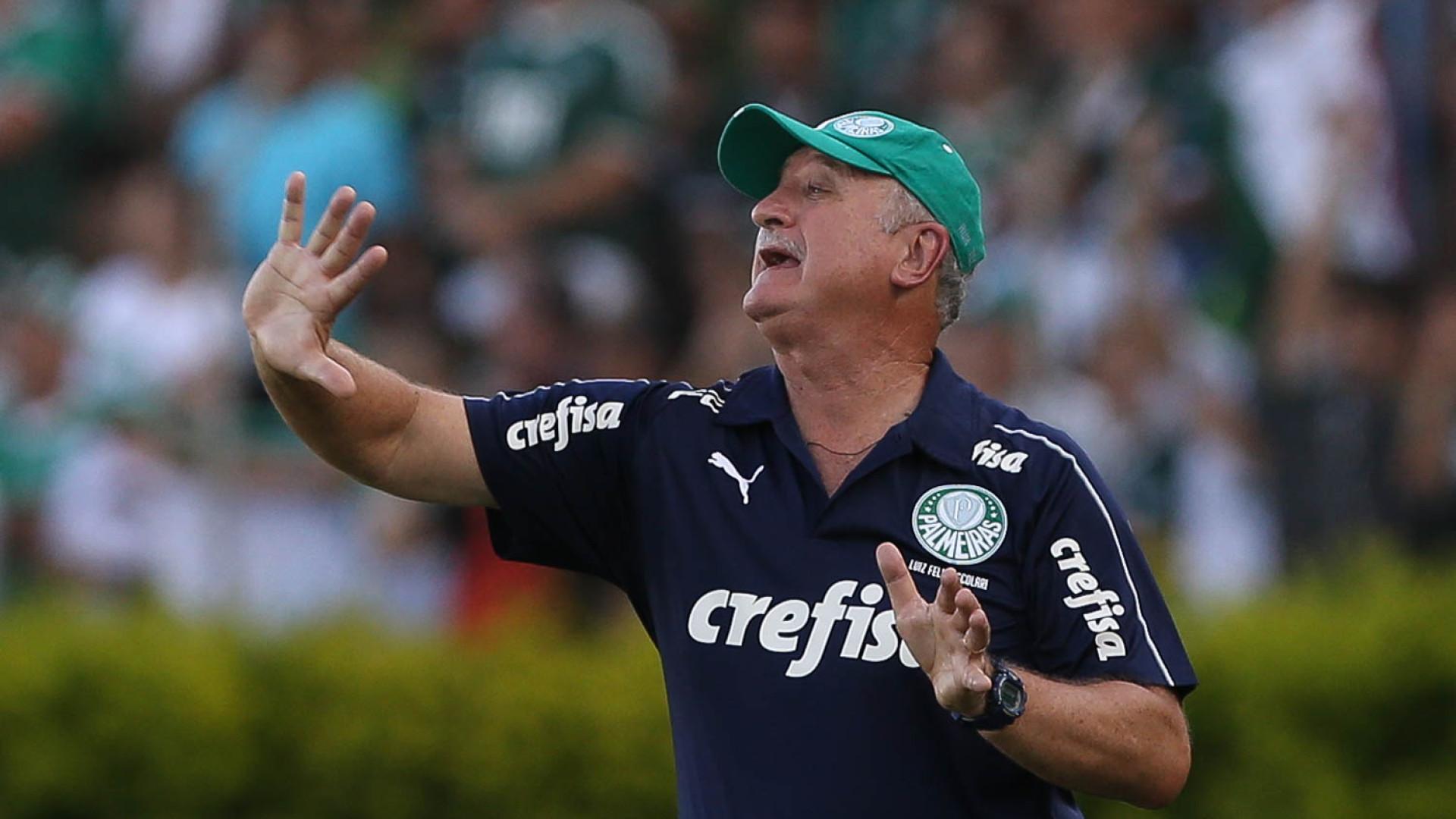 Felipão critica Palmeiras e faz alerta: 'Vamos continuar pagando caro'