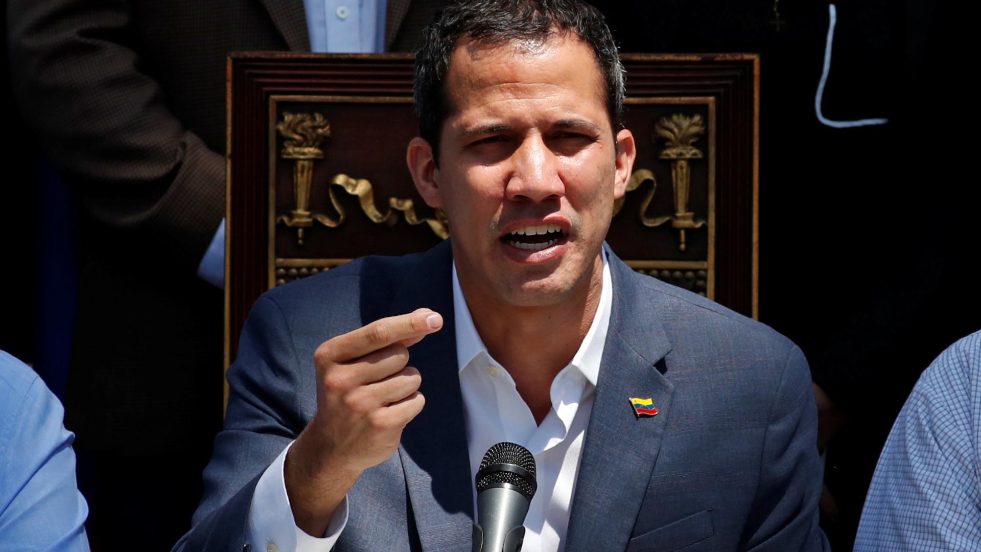 Guaidó: Há infiltrados de Cuba e Venezuela em protestos pela América