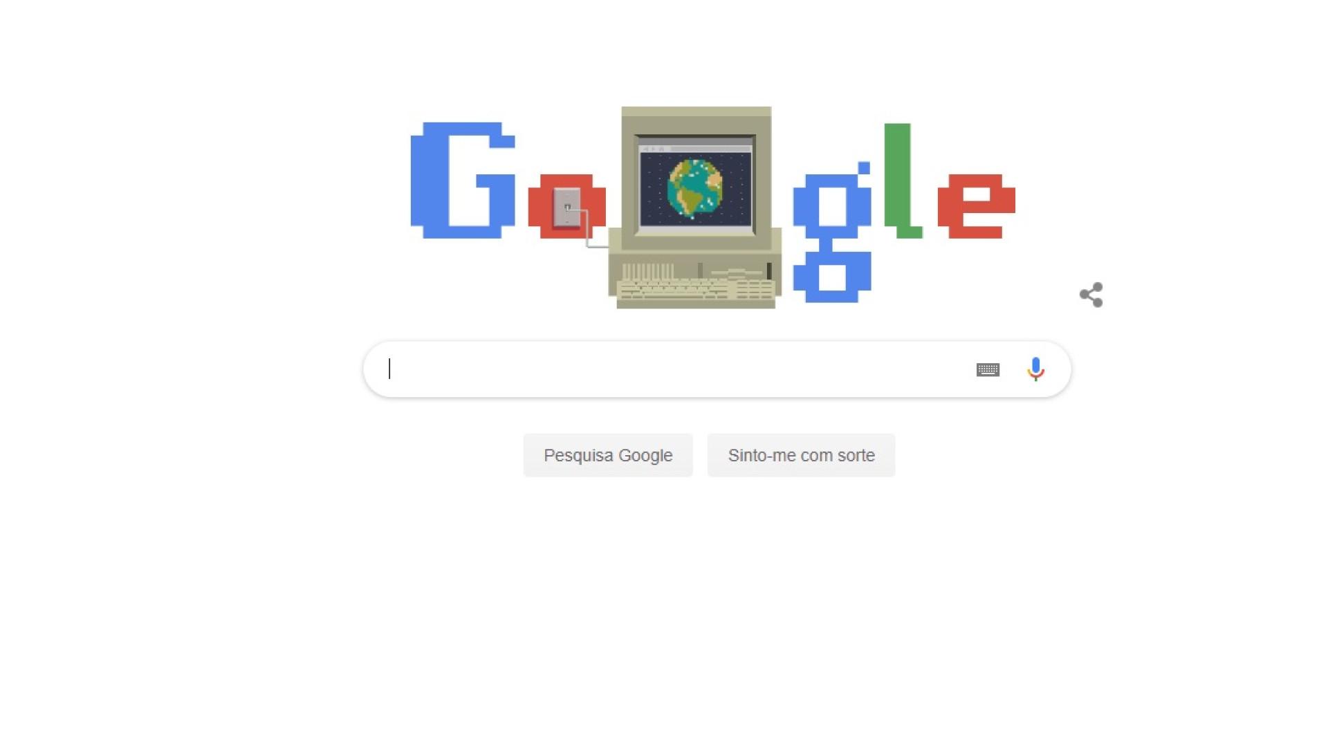 Google comemora 30º aniversário da world wide web