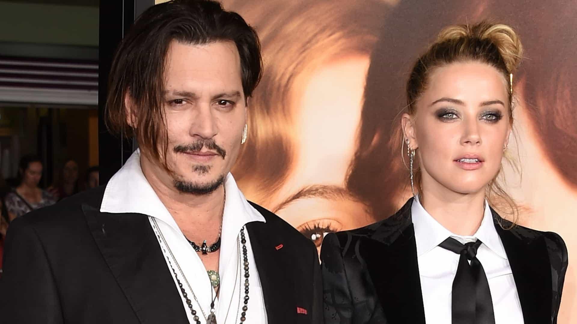 Processo de Johnny Depp contra Amber Heard é adiado por falta de provas