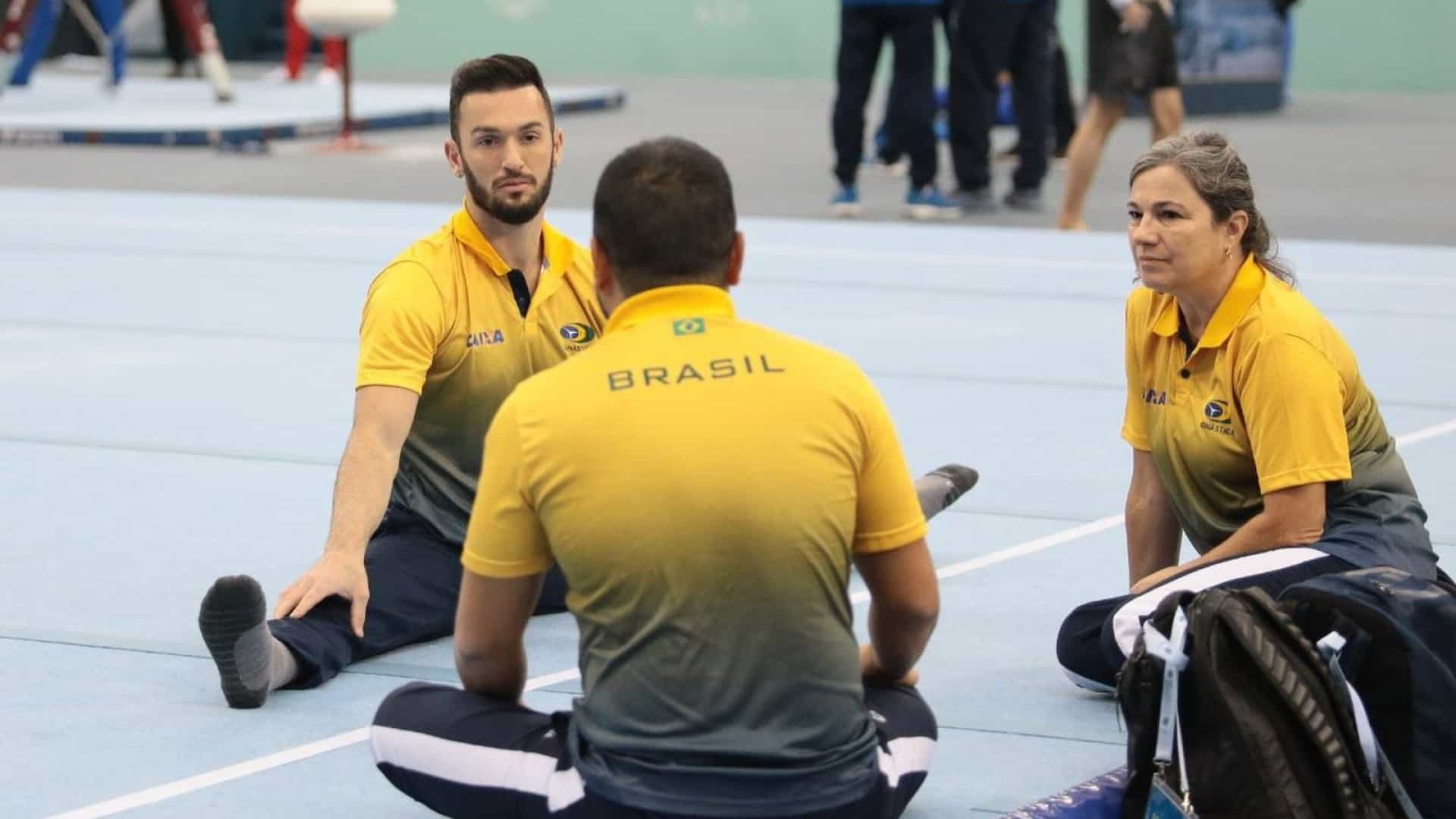 Diego Hypólito vai mal e fica longe de vaga olímpica automática