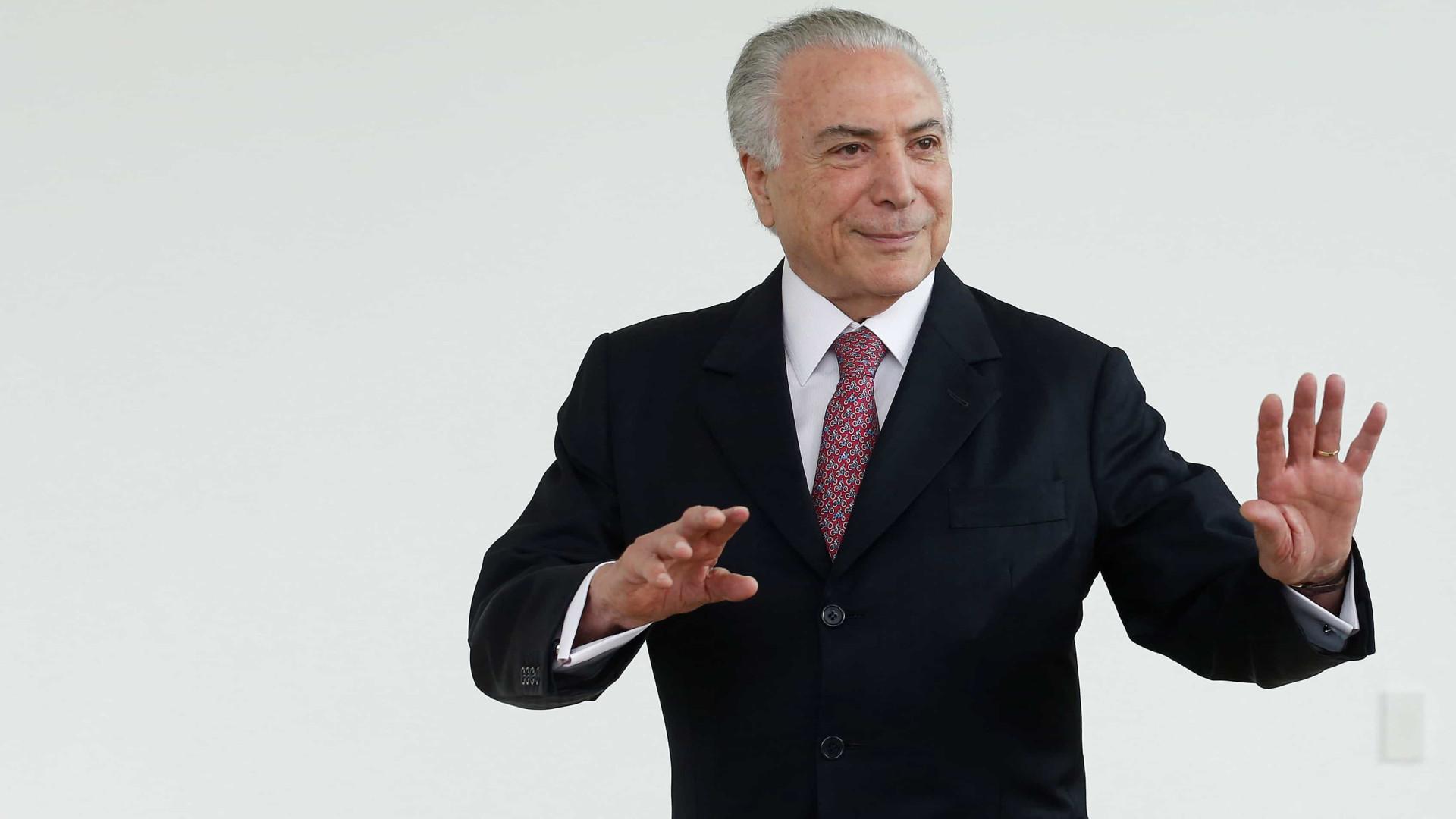 Para Temer, Bolsonaro não incorreu em improbidade administrativa na Petrobras