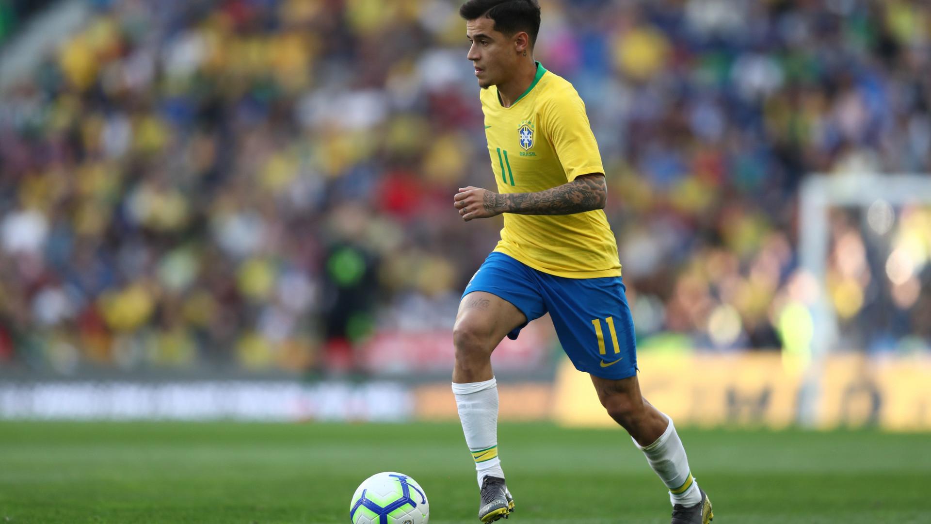 Seleção brasileira aposta em Philippe Coutinho como referência