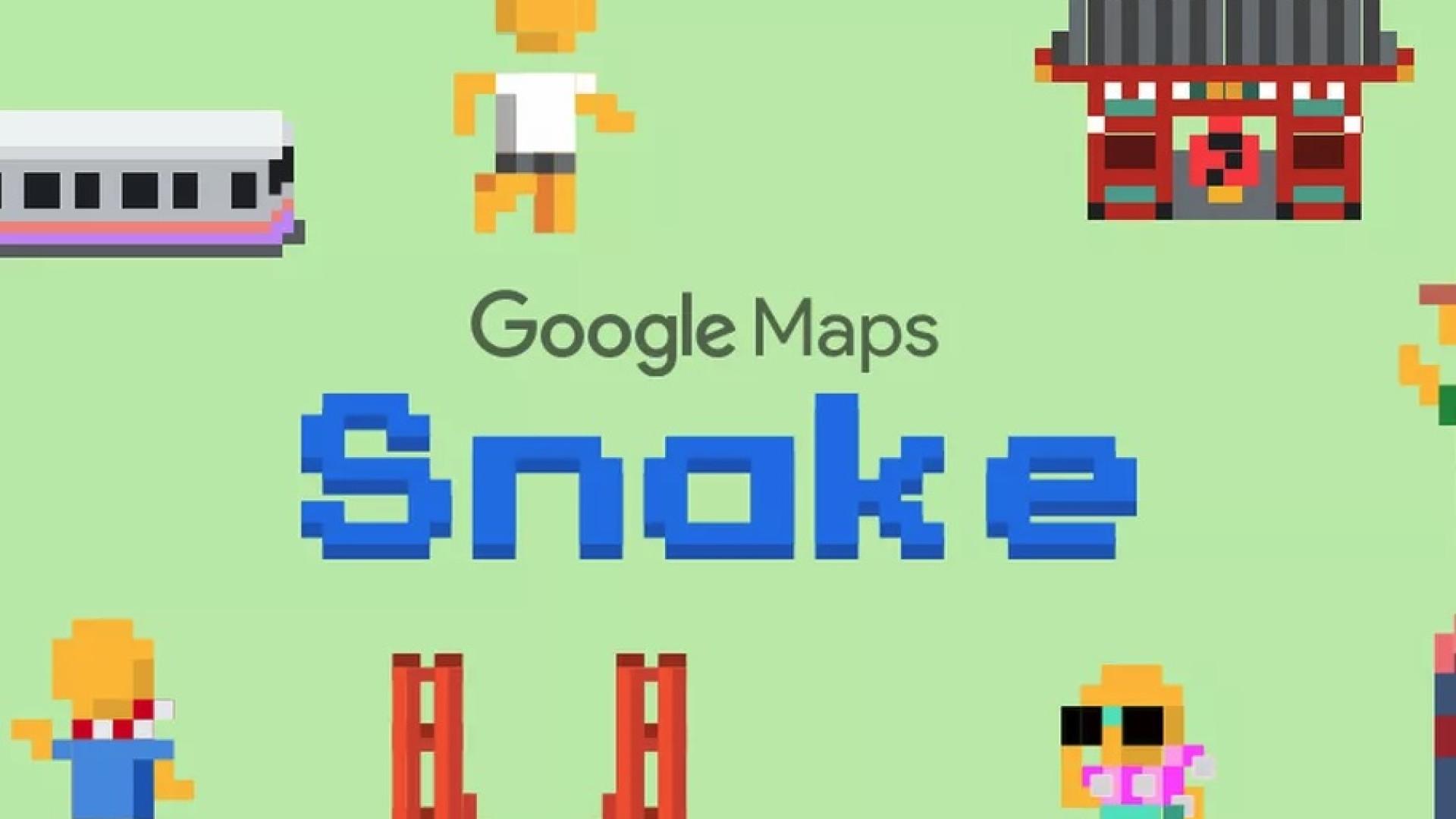Adeus produtividade: hoje é possível jogar 'cobrinha' no Google Maps