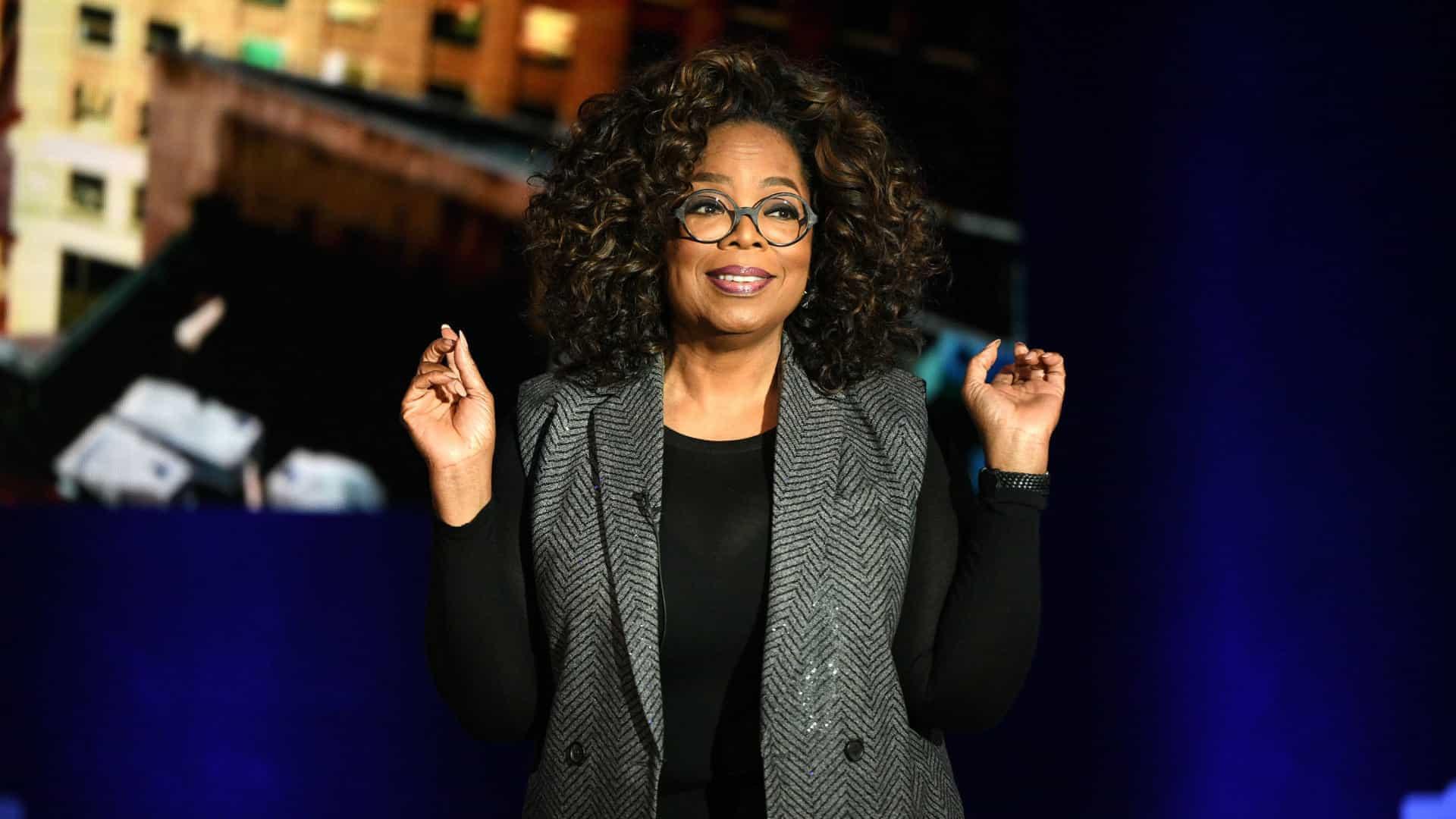 Oprah Winfrey apoia '1000%' decisão de Meghan e Harry de deixar realeza