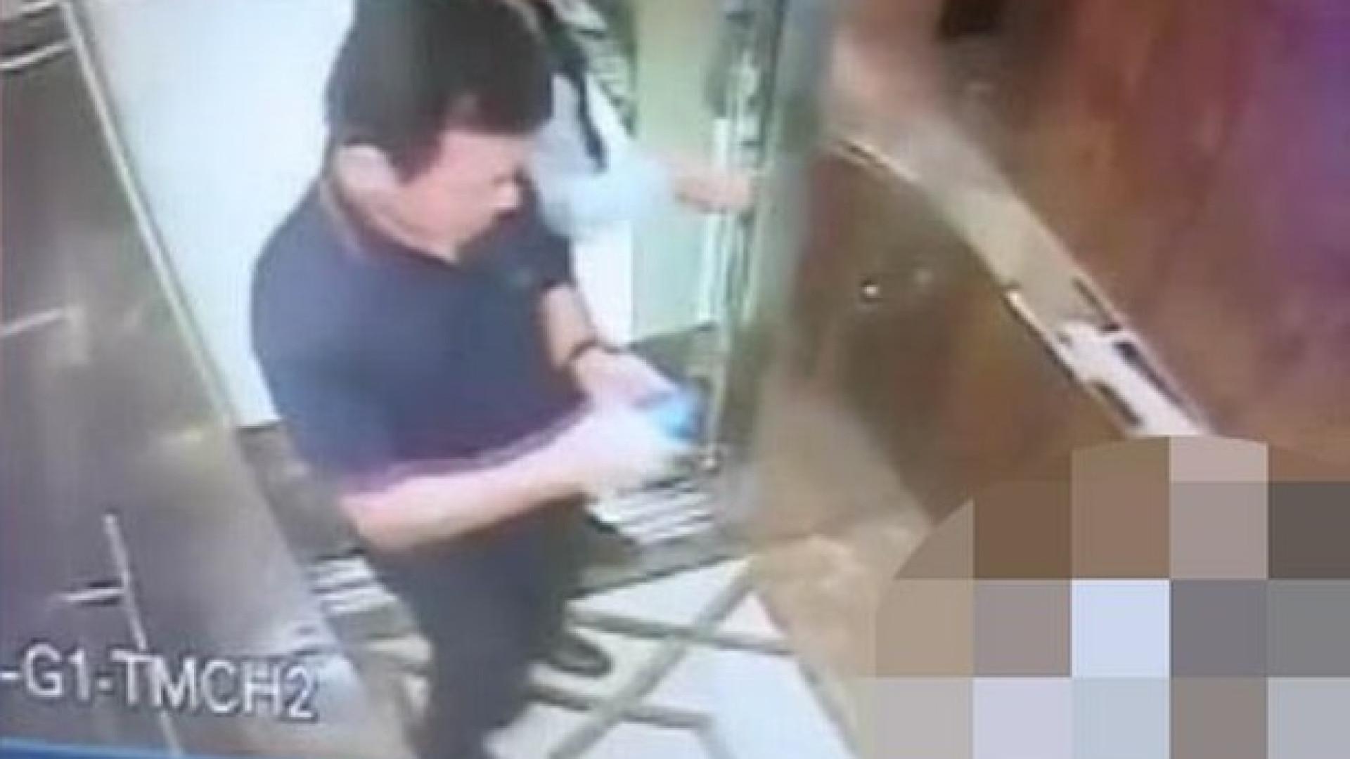 Pedófilo ataca criança após ficar a sós com ela em elevador