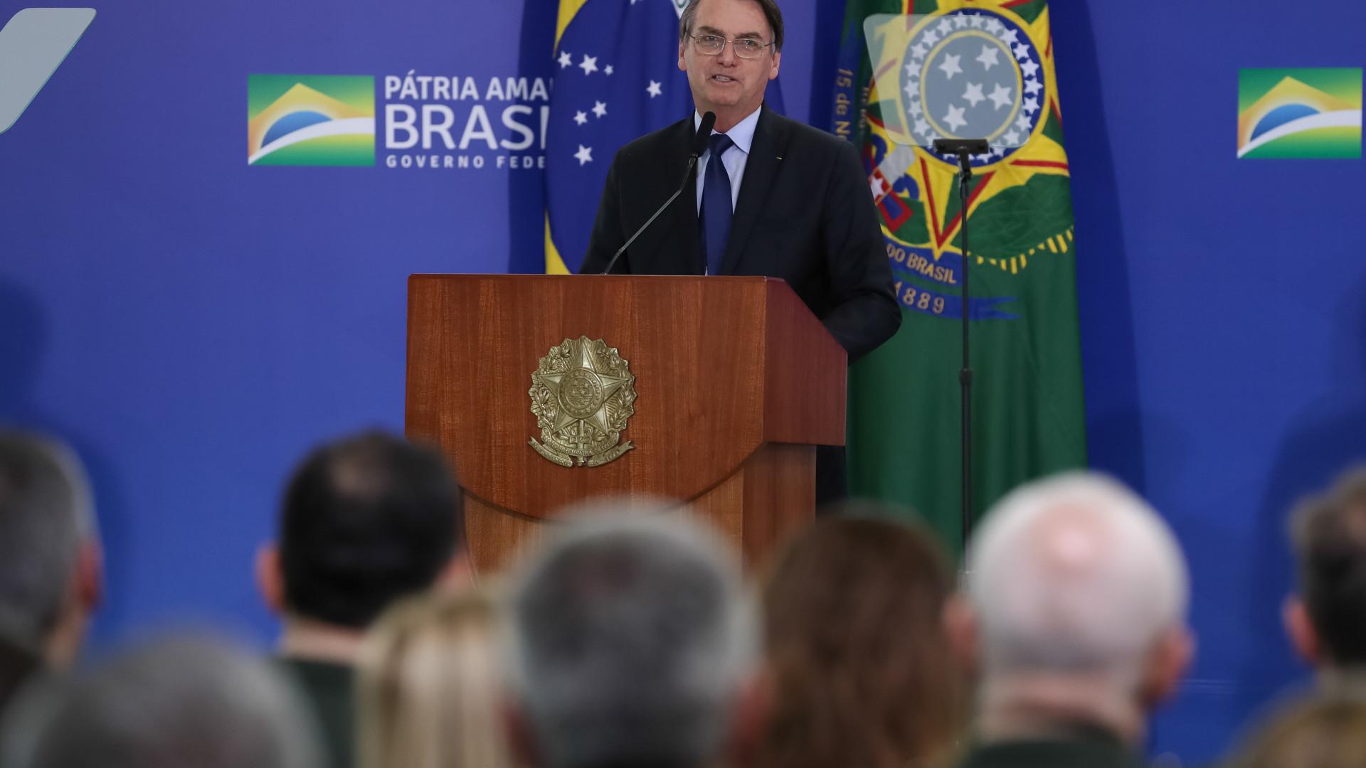 Não nasci para ser presidente, nasci para ser militar, diz Bolsonaro