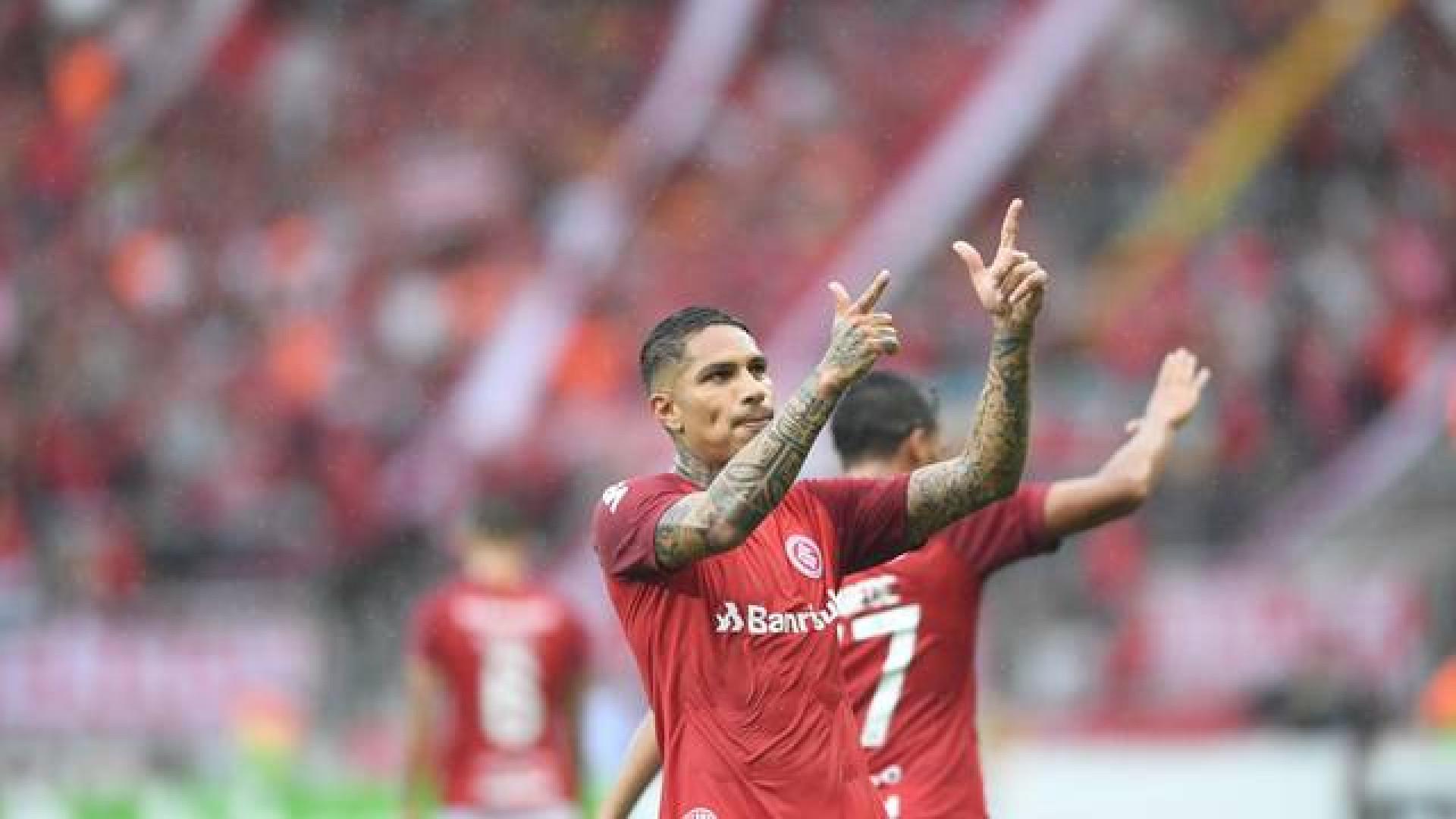Guerrero marca, Inter vence Caxias e volta à final do Gauchão