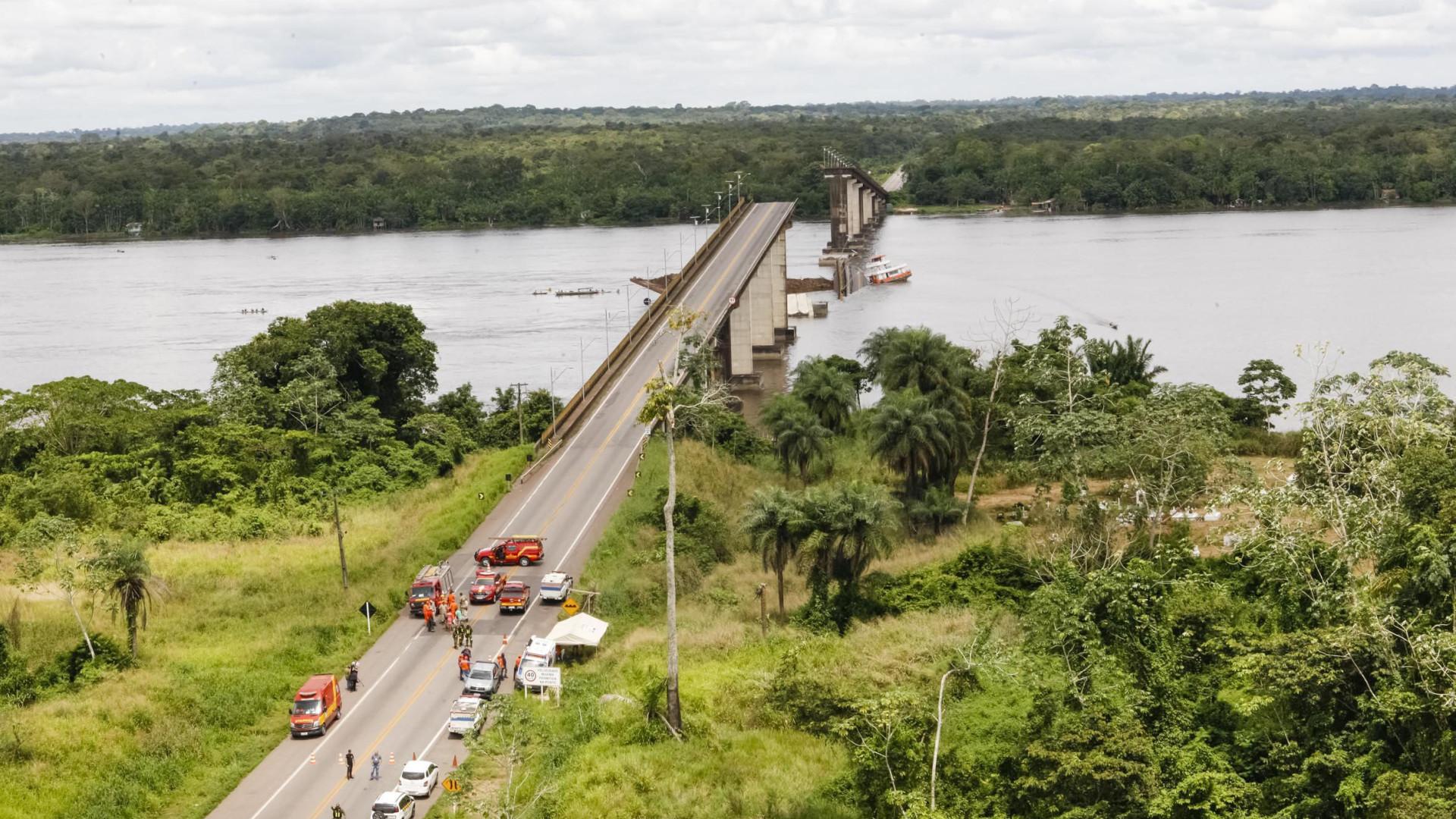 Queda de ponte no Pará: buscas devem ser retomadas hoje