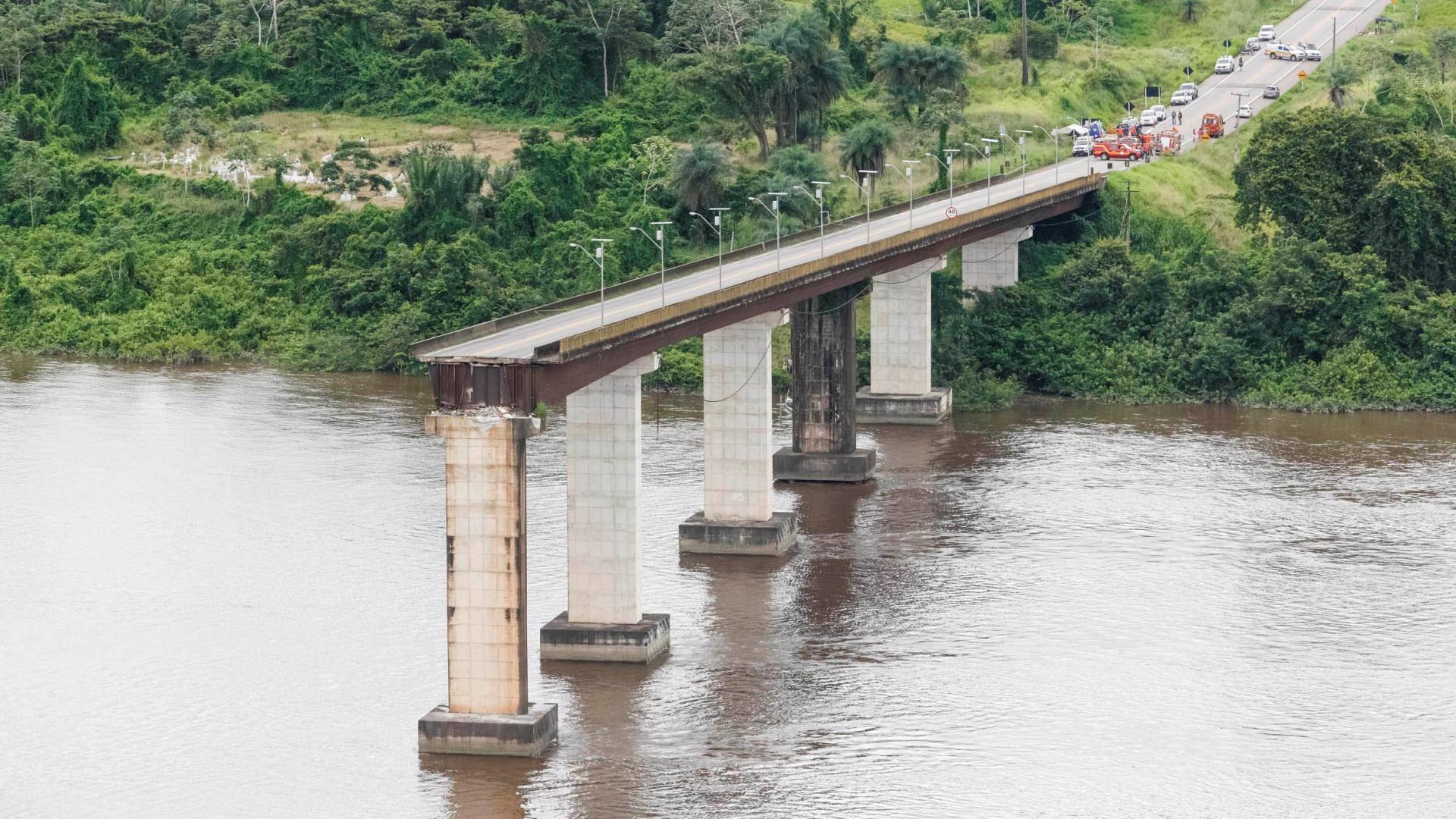 Queda de ponte no Pará: bombeiros retomam buscas por desaparecidos