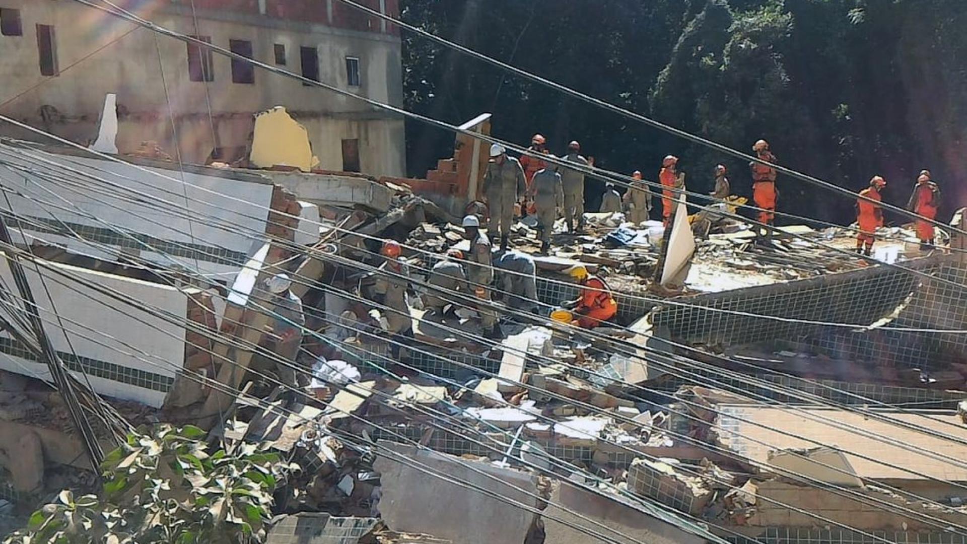 Preso suspeito de envolvimento em desabamento de prédio na Muzema