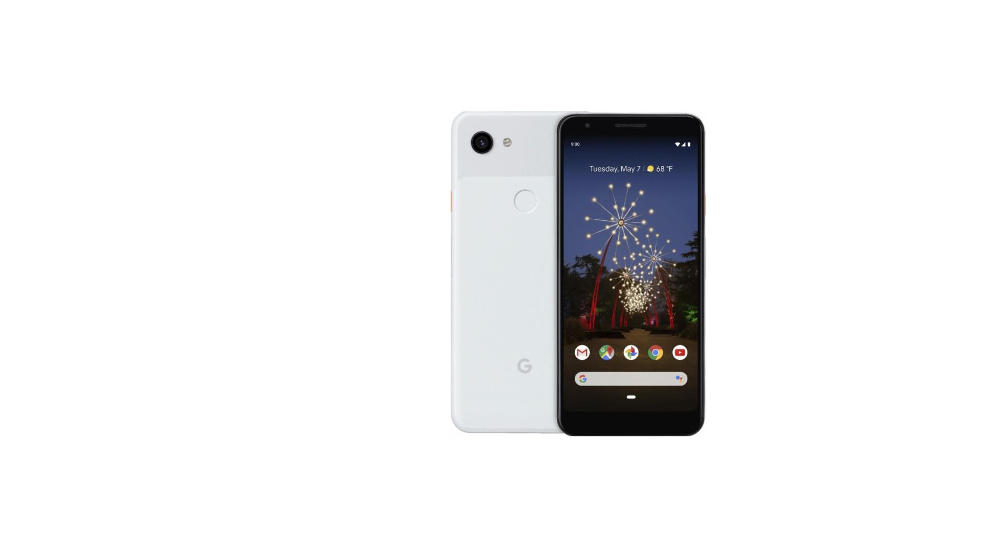 Imagens do novo Pixel da Google vazam na internet