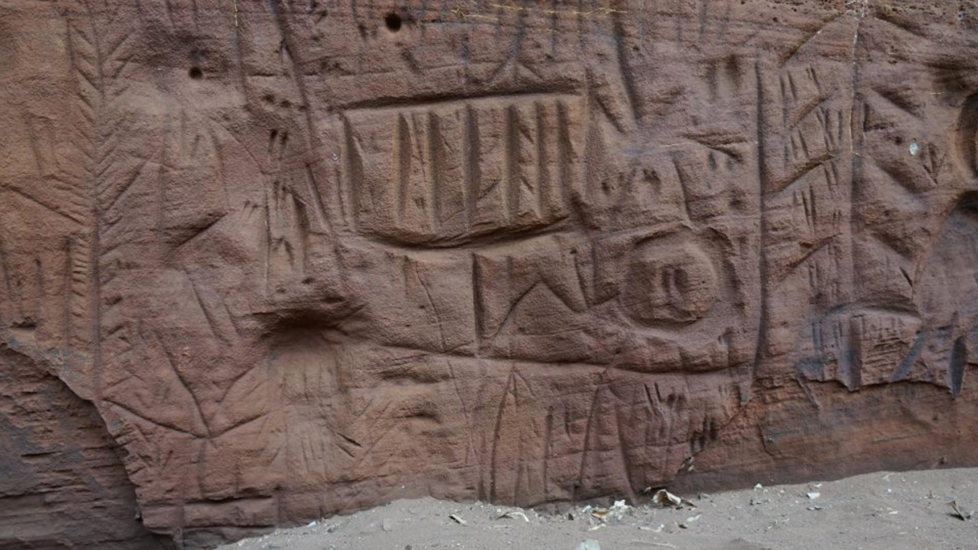 Pesquisadores descobrem maior painel de arte rupestre de São Paulo