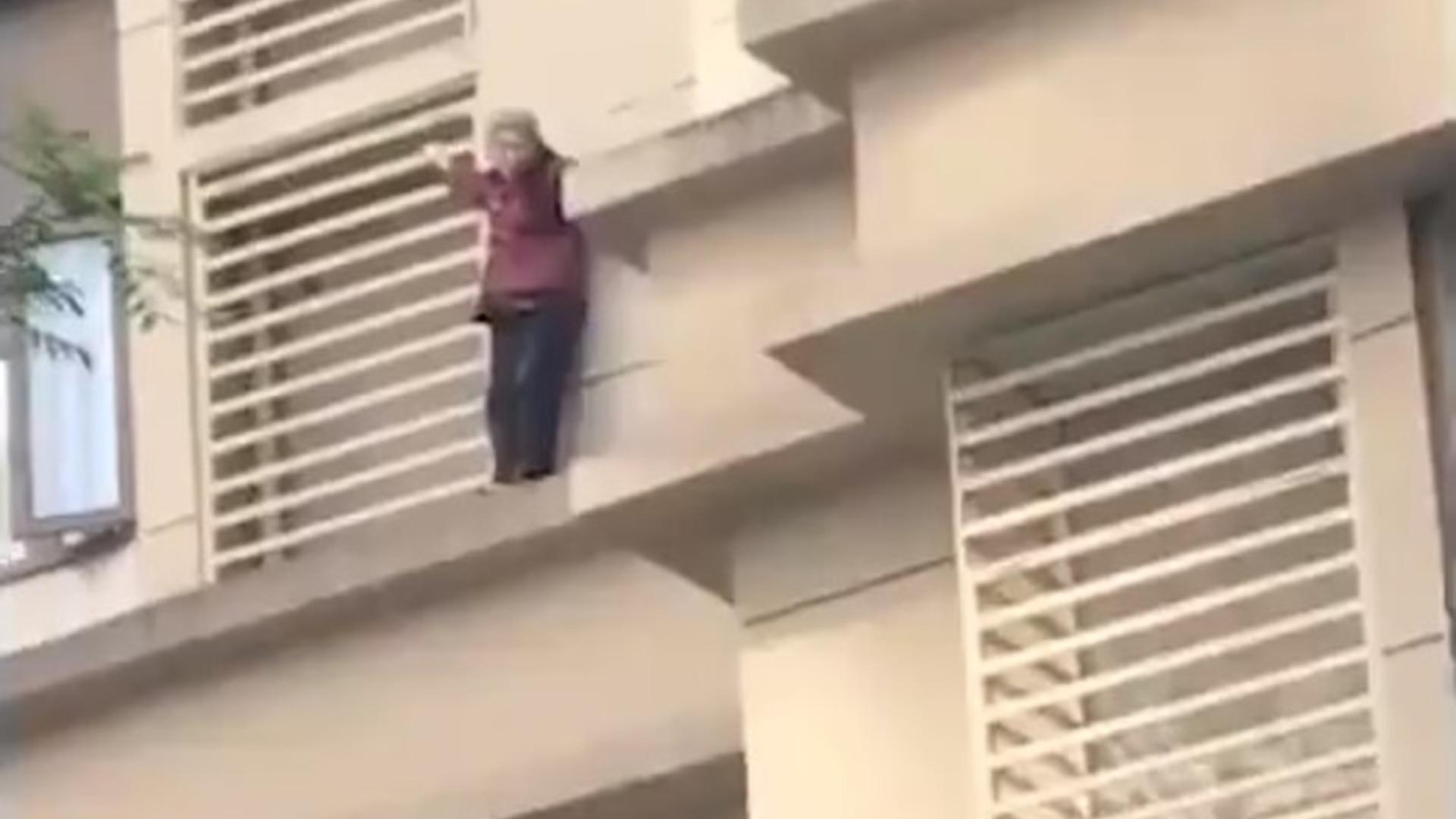 Idosa com Alzheimer trancada em casa desce 9 andares pela fachada