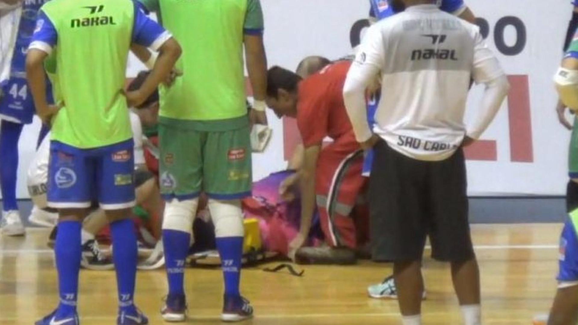Árbitro morre após passar mal durante jogo de futsal em São Paulo