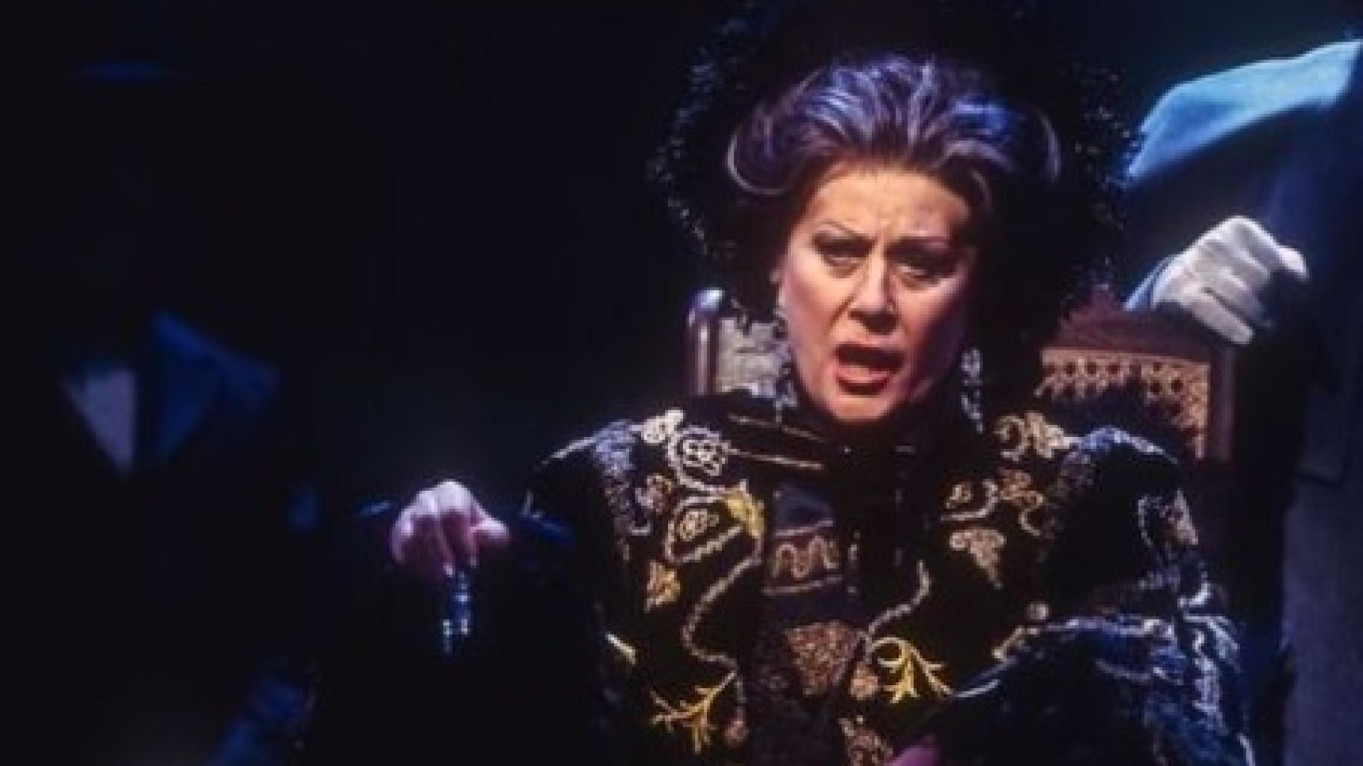 Televisão russa entrevistou cantora de ópera… que morreu há quatro anos
