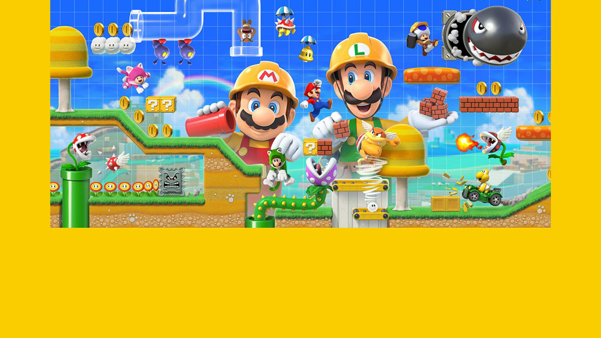 Novo 'Super Mario' vai permitir criar níveis inteiros para jogar