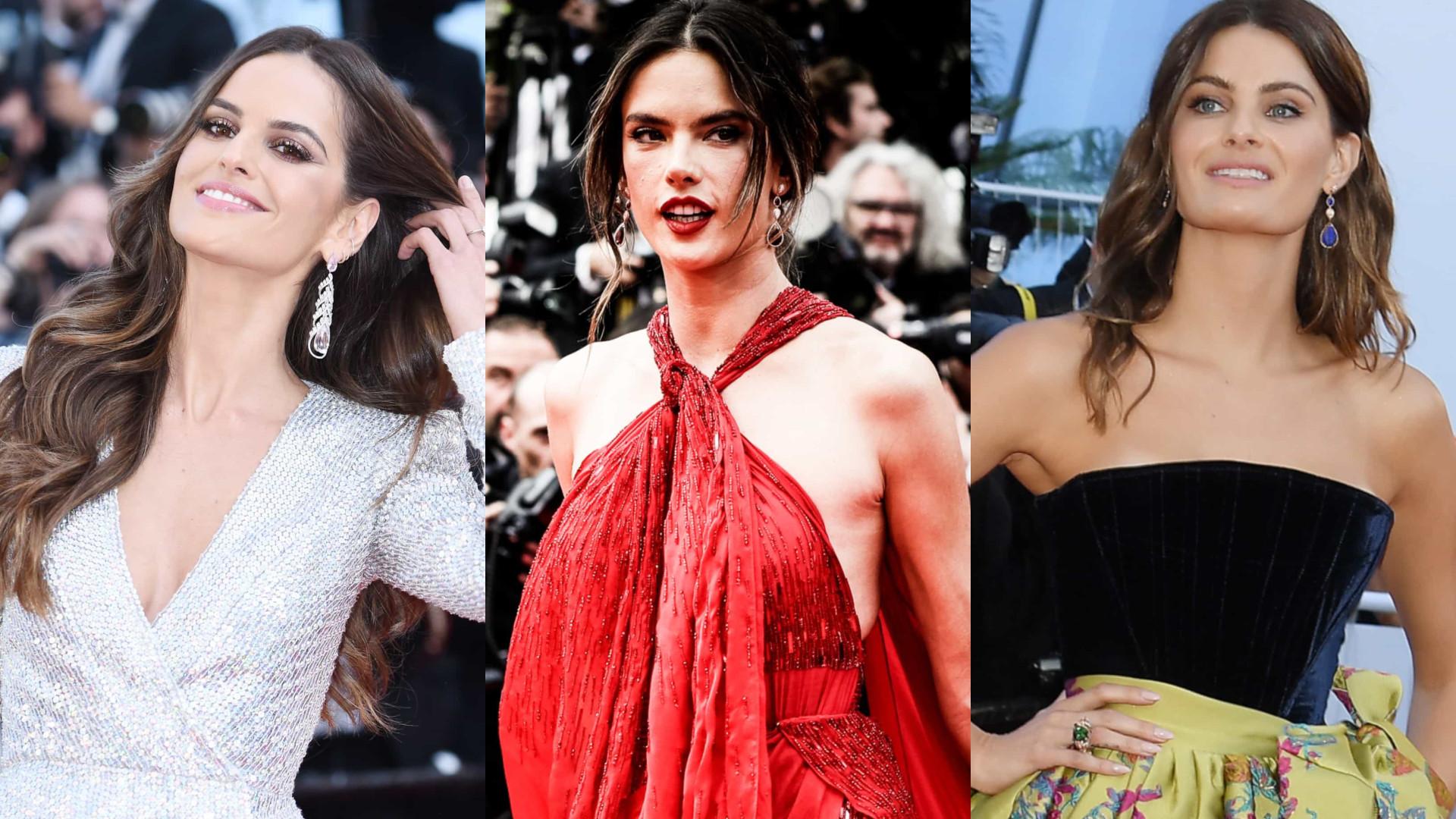 Brasileiras arrasam no tapete vermelho de Cannes!