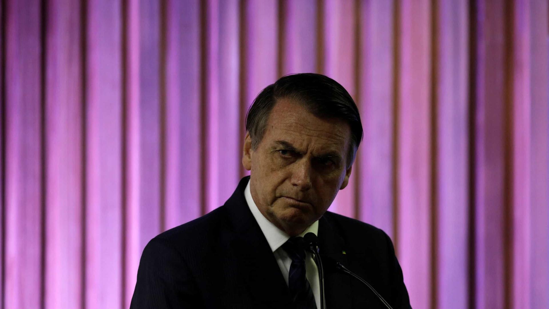 Aprovação da gestão Bolsonaro no mercado cai de 28% para 14%
