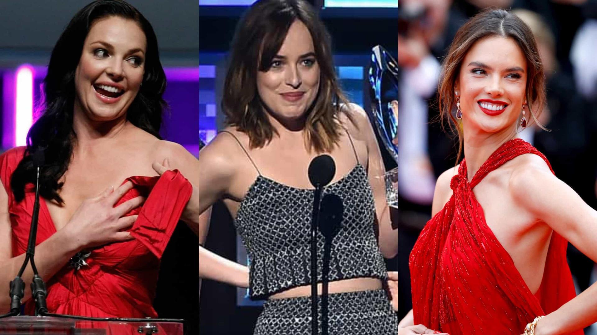 Os looks que deixaram os famosos numa saia-justa!