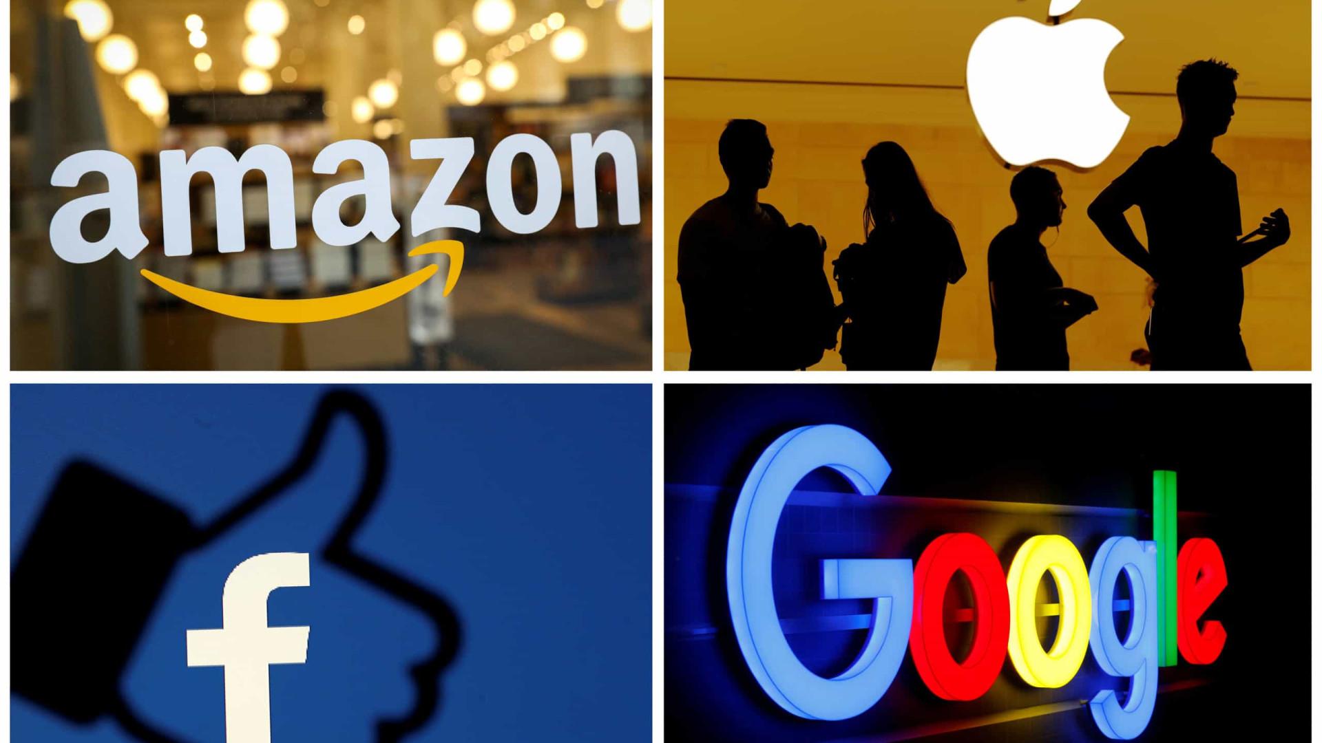 Amazon, Apple, Facebook e Google são ouvidas hoje no congresso dos EUA