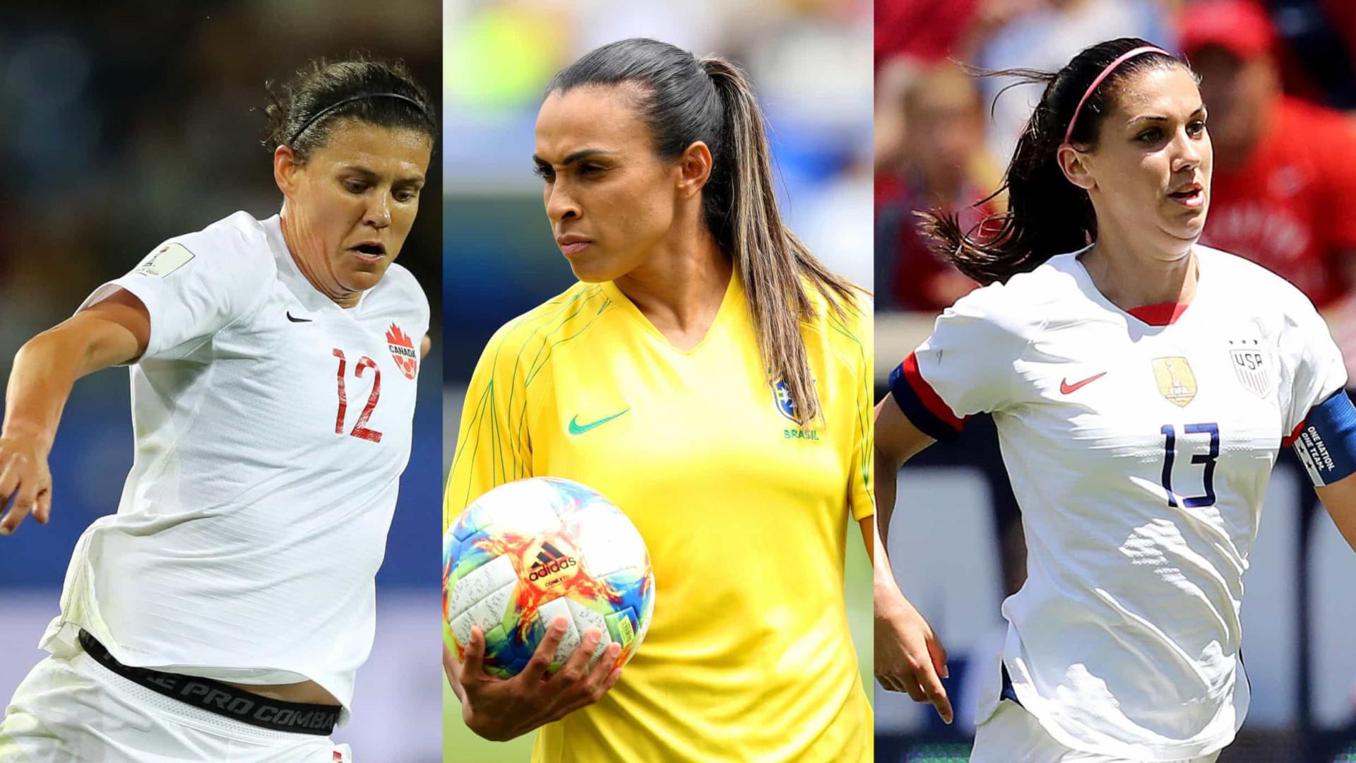 As melhores jogadoras da Copa do Mundo de 2019!