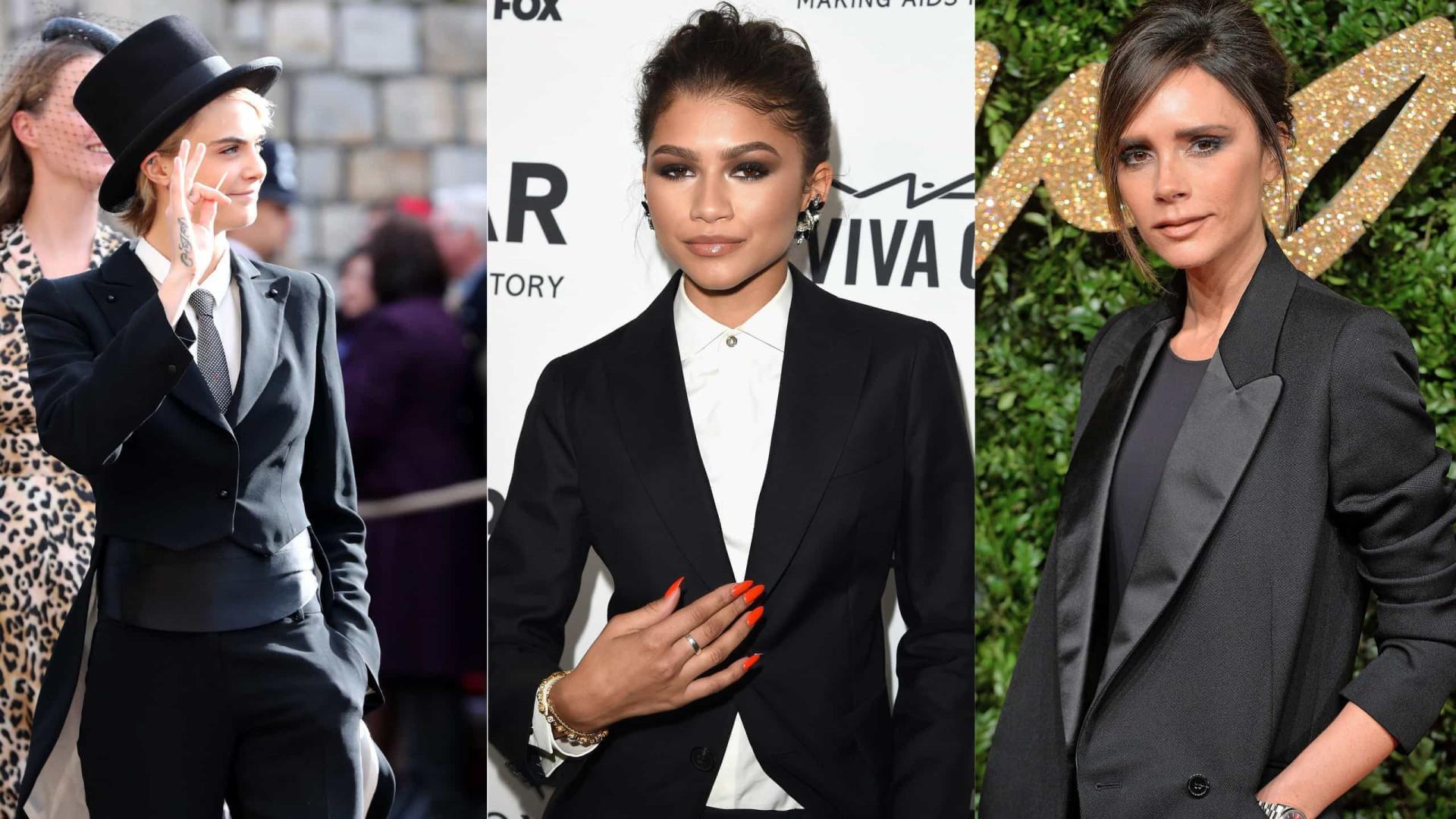 As celebridades que arrasam usando terninho!