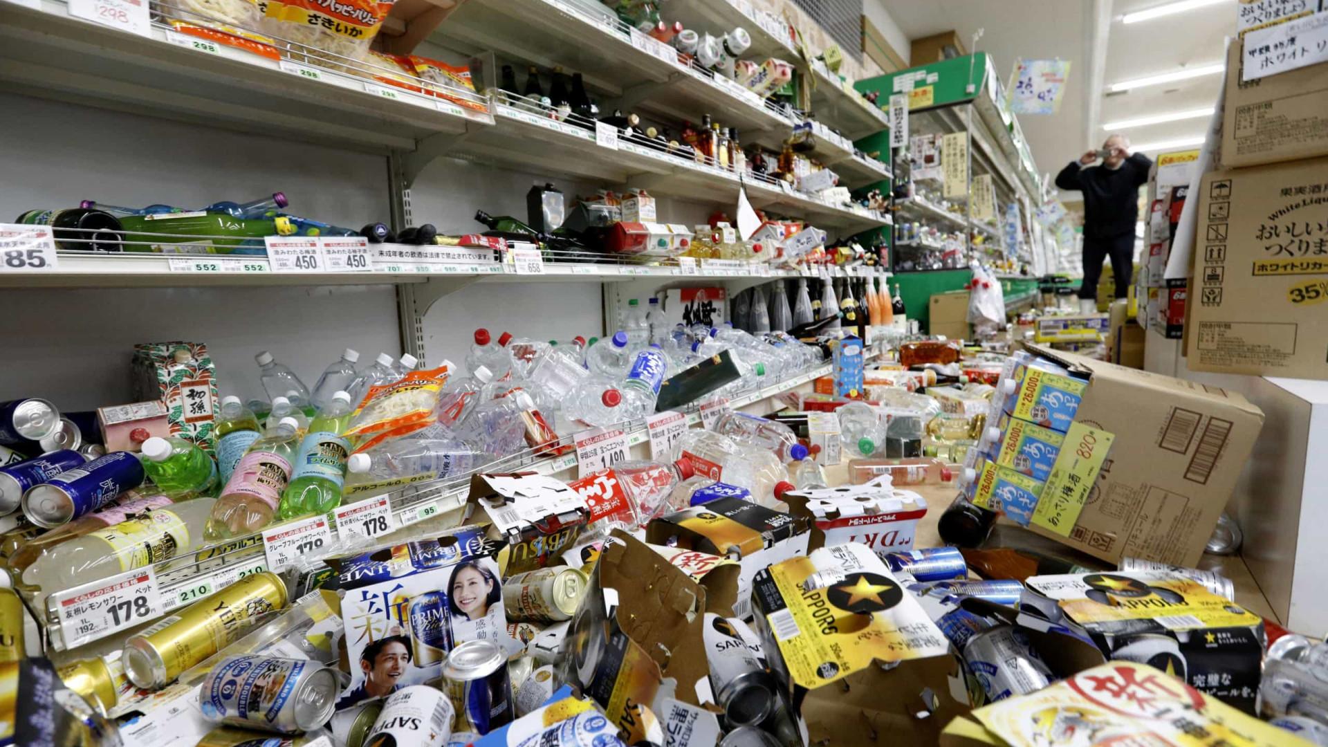 Terremoto de magnitude 6,7 atinge o Japão e deixa 28 feridos
