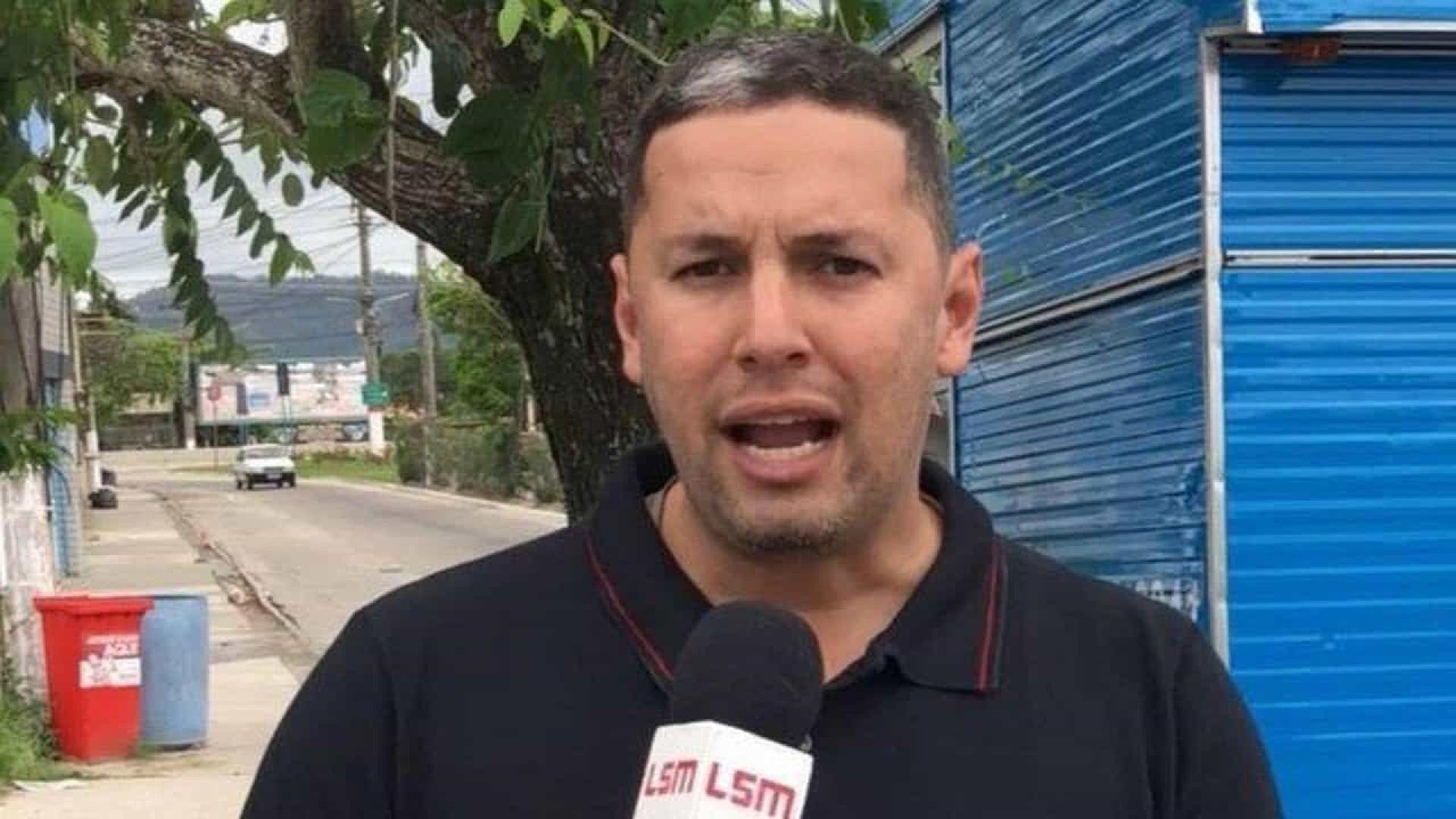 Vídeo mostra o momento da execução do jornalista de Maricá