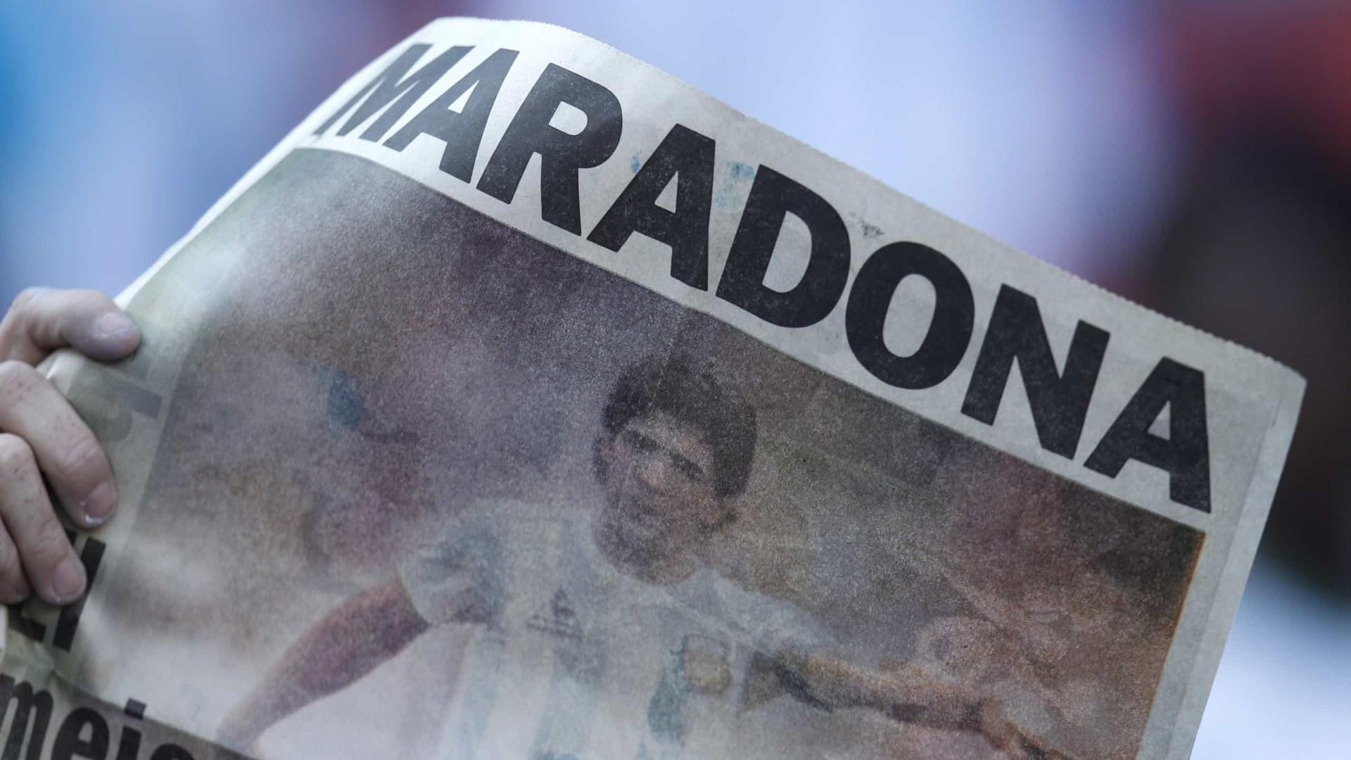 """""""Maradona não tinha quase nada na sua conta bancária. Ele morreu pobre"""""""