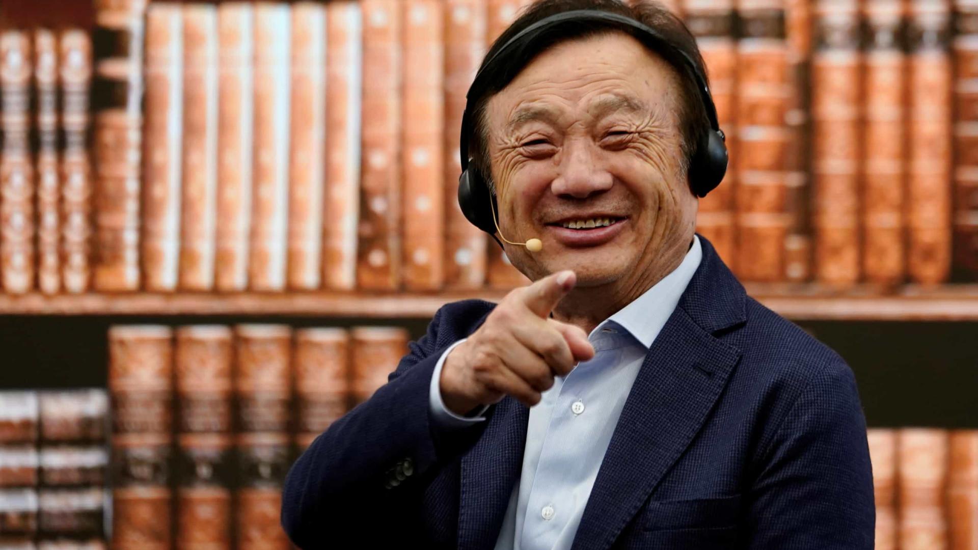 """Falar com Trump? """"Ele pode vir à China"""", diz CEO da Huawei"""