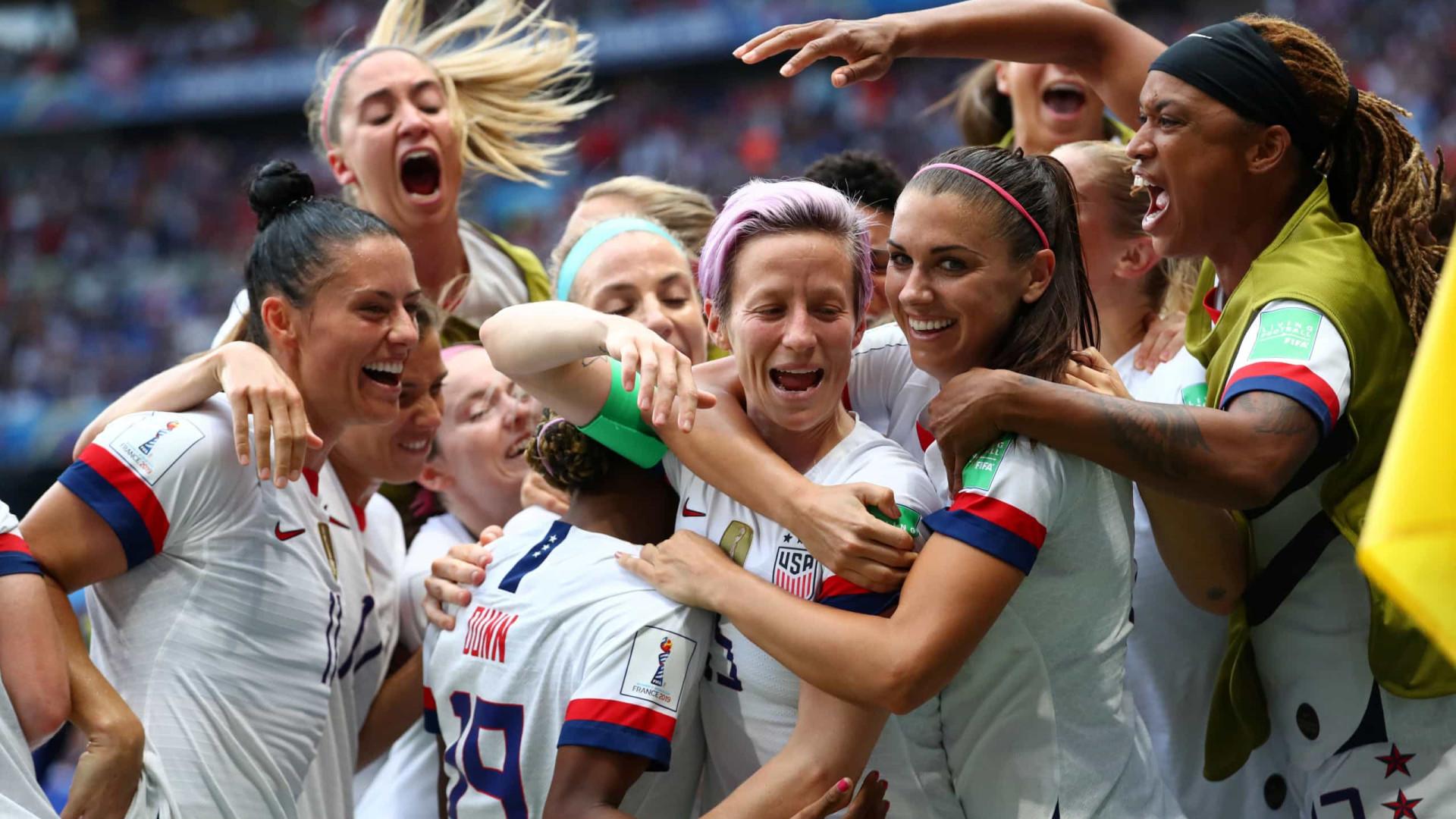 EUA vencem Holanda e conquistam o Mundial Feminino