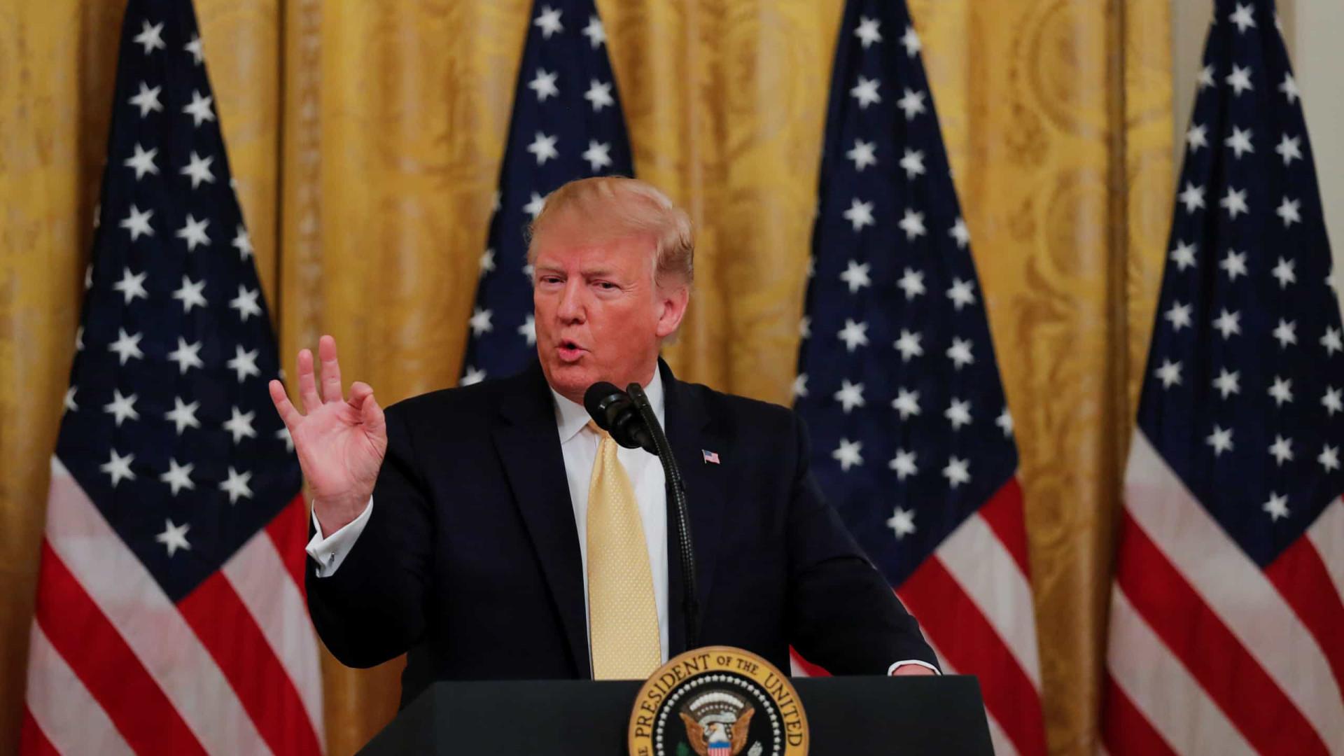 """Trump diz que EUA abateram drone iraniano após """"diversos avisos"""""""
