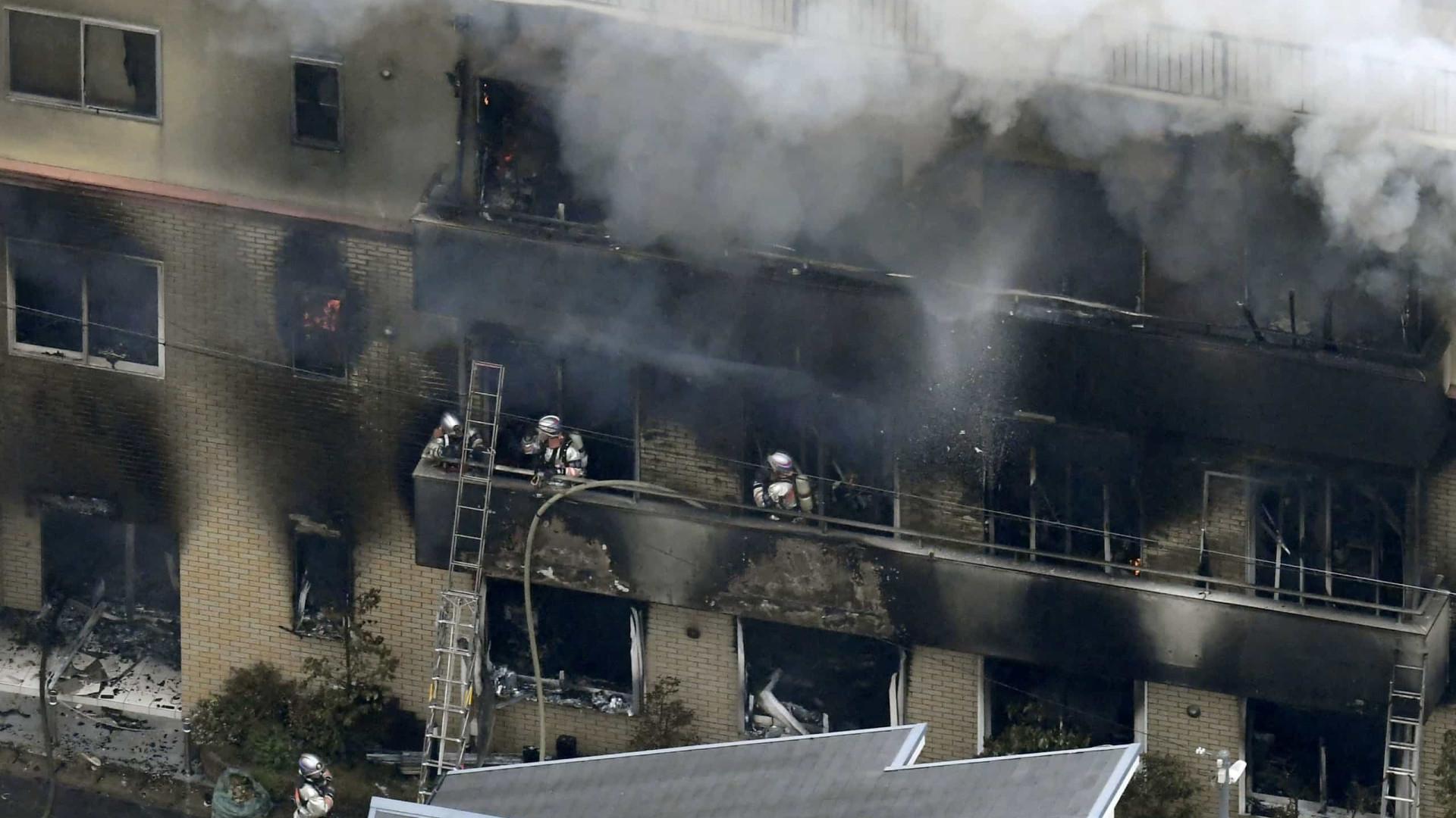 Fogo em estúdio de animação no Japão deixa pelo menos 24 mortos