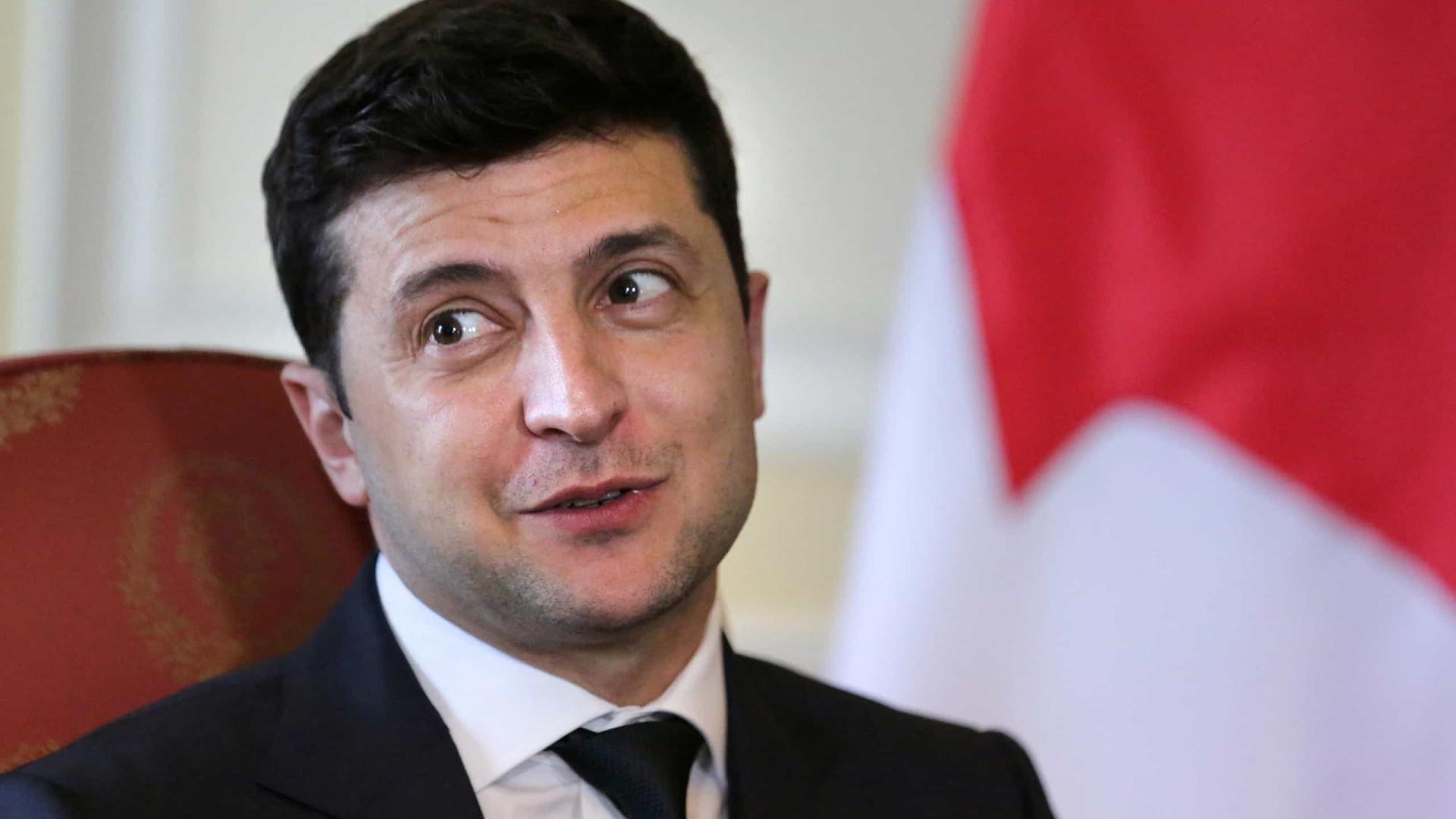 Presidente ucraniano bate recorde com coletiva de imprensa de 12 horas