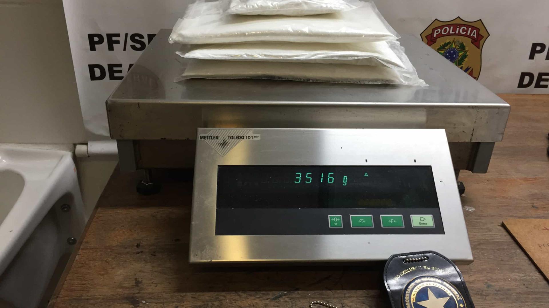 PF apreende 17 quilos de cocaína dentro de embalagens de café