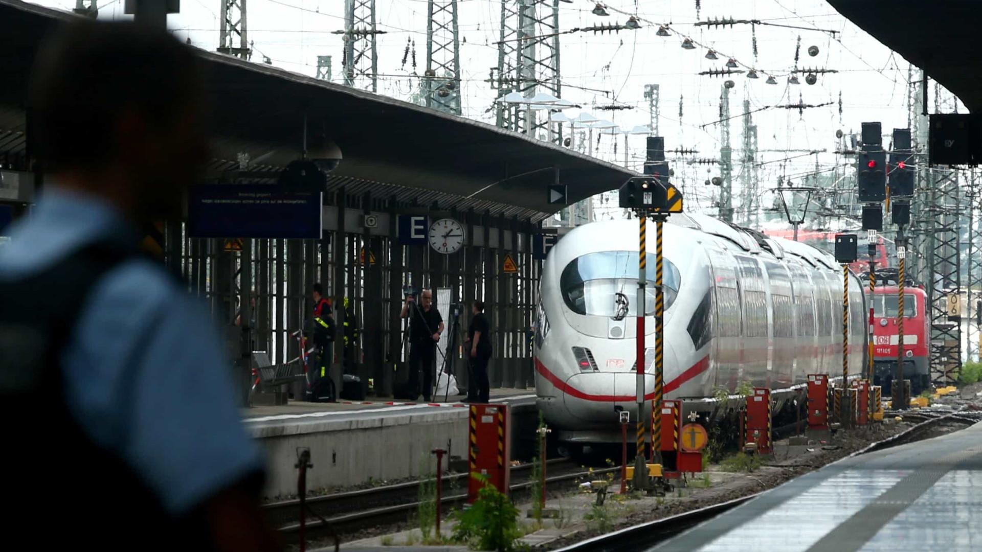 Criança morre após ser empurrada e atropelada em trem na Alemanha