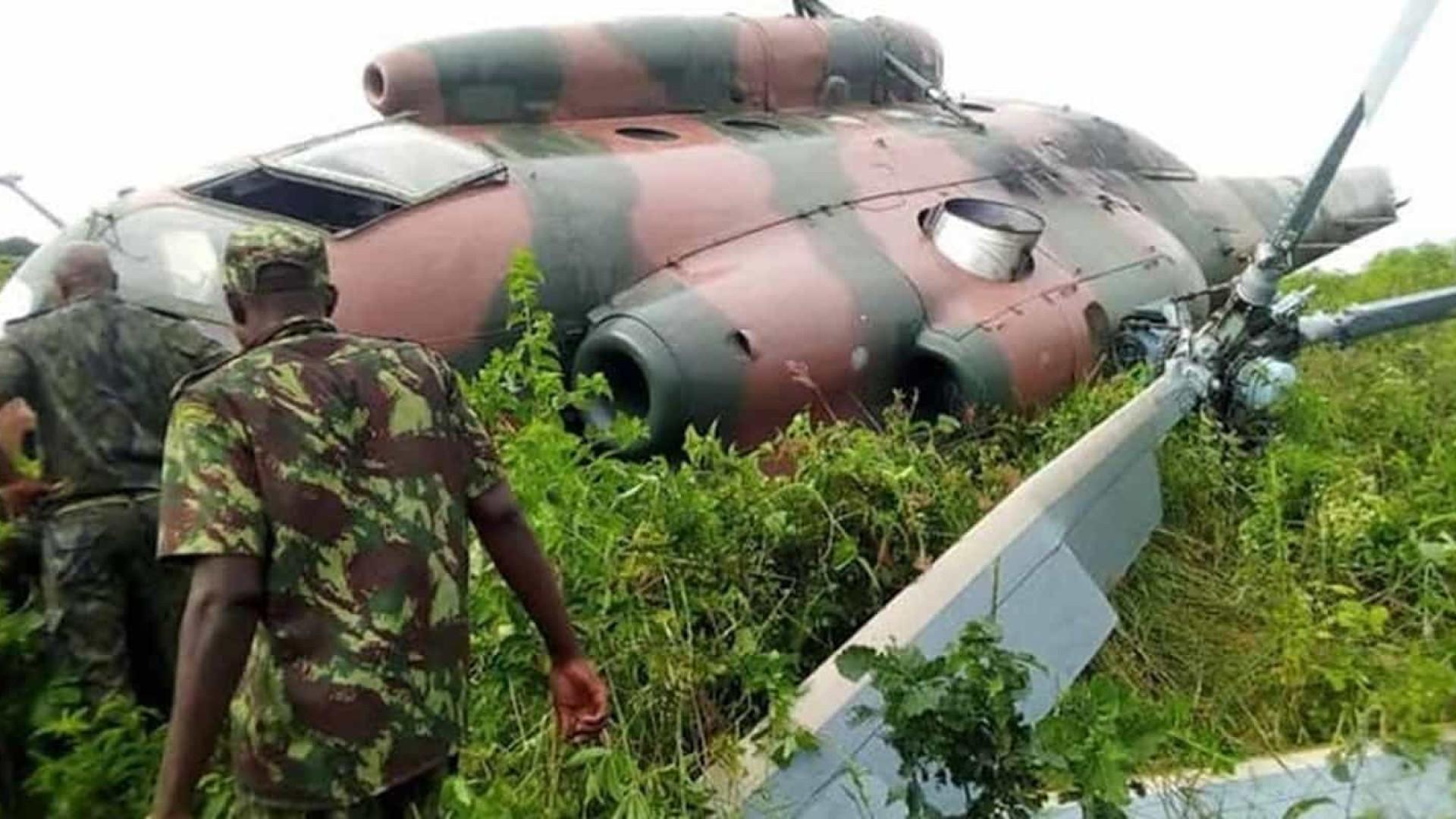 Helicóptero militar cai no norte de Moçambique