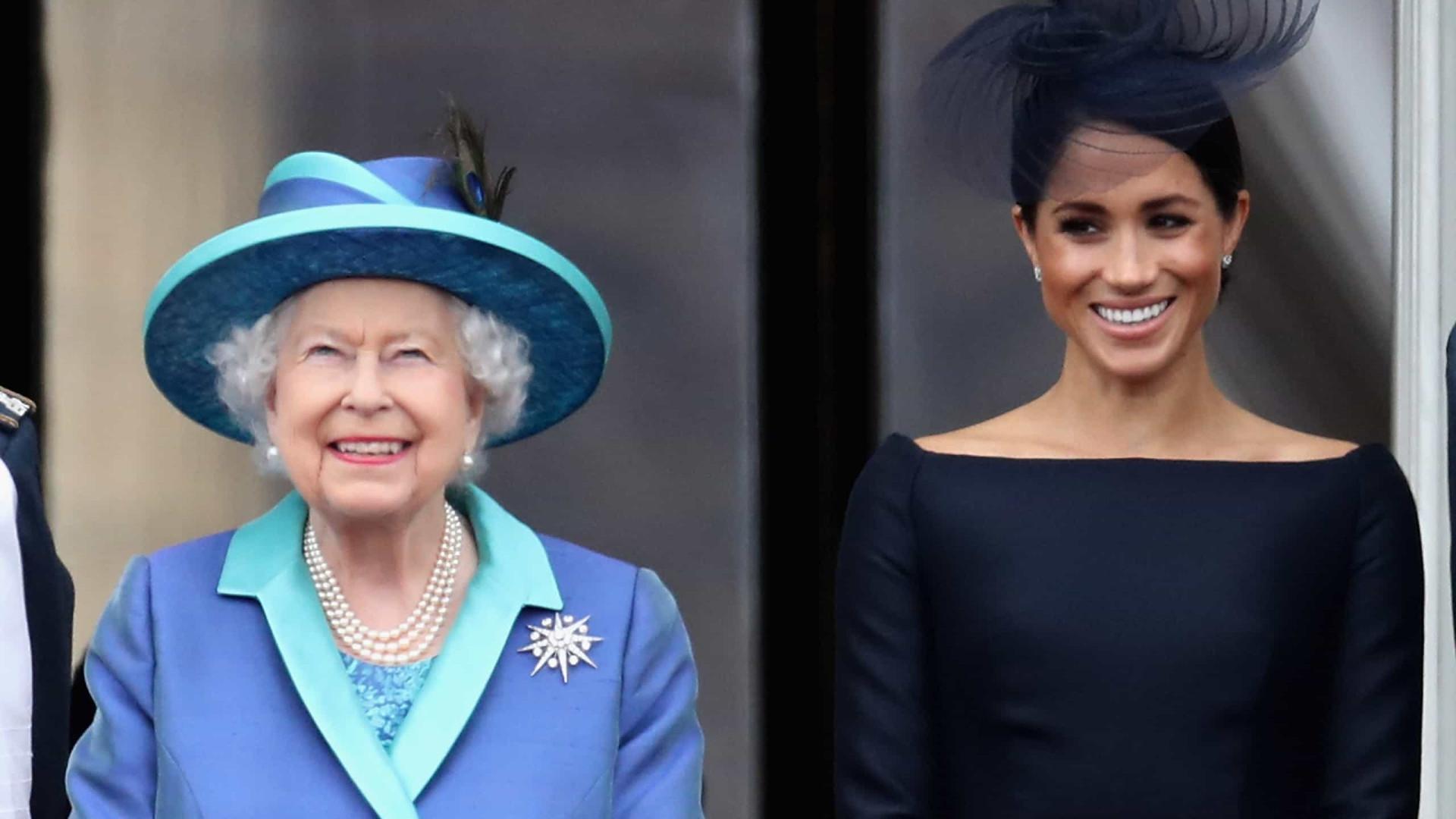 Meghan Markle teve aulas para aprender a beber chá com a rainha